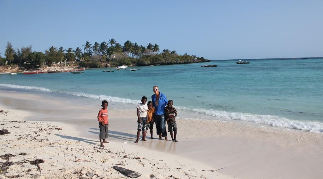 Group Shot with Zanzibarians; Zanzibar, Tanzania; 2012