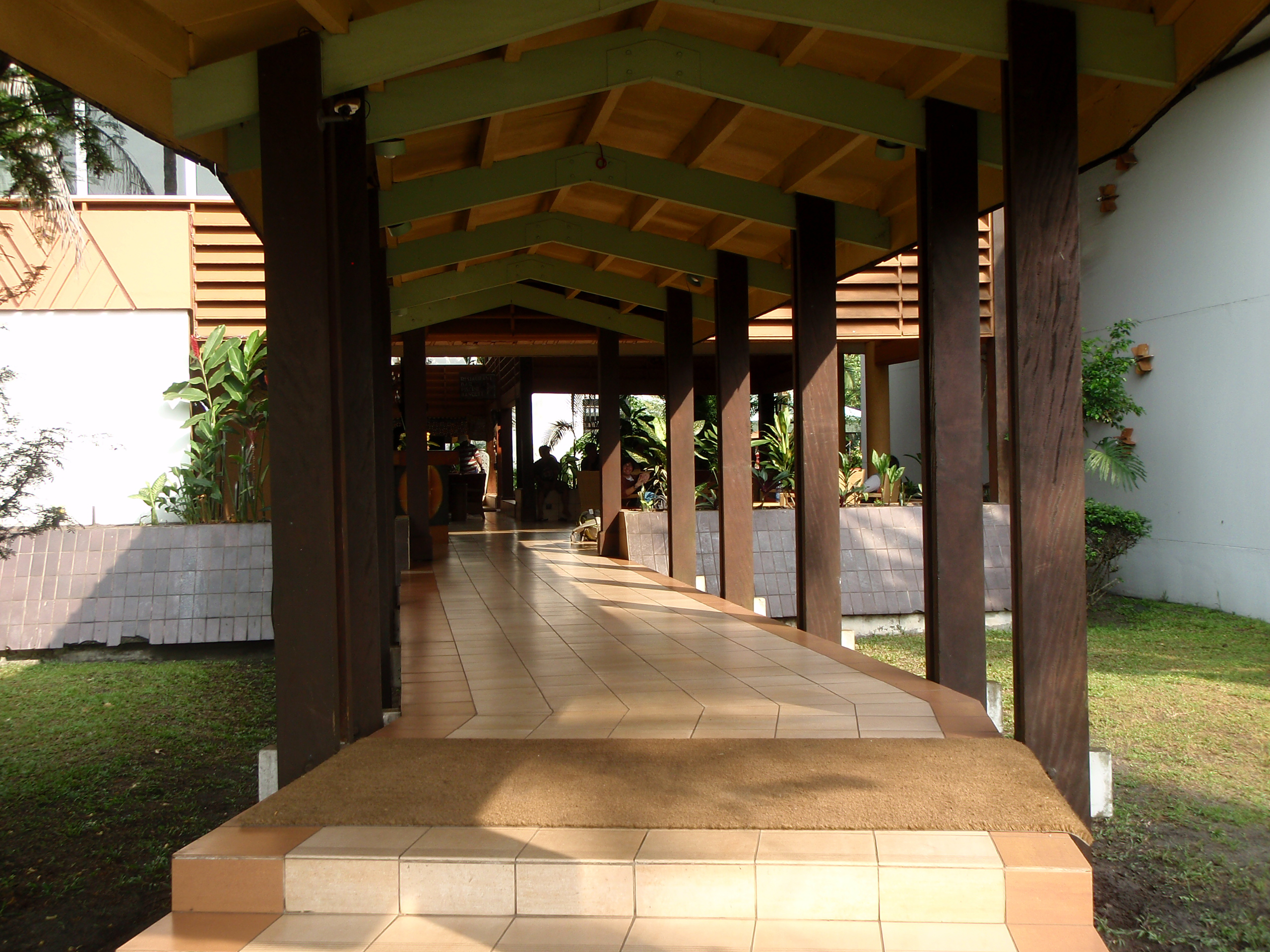 Hotel Entrance; Port Gentil, Gabon; 2010