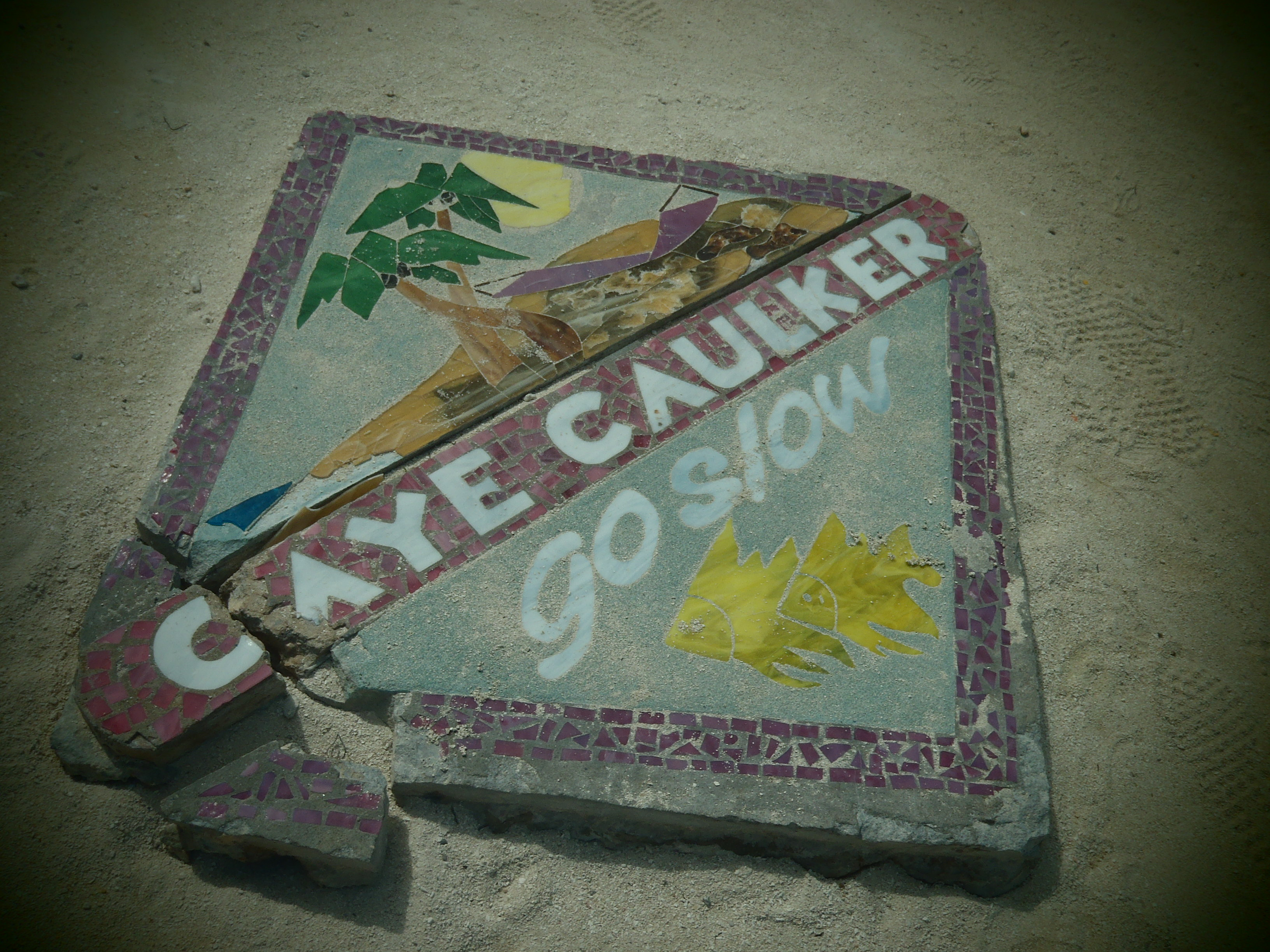 Go Slow; Caye Caulker, Belize; 2013