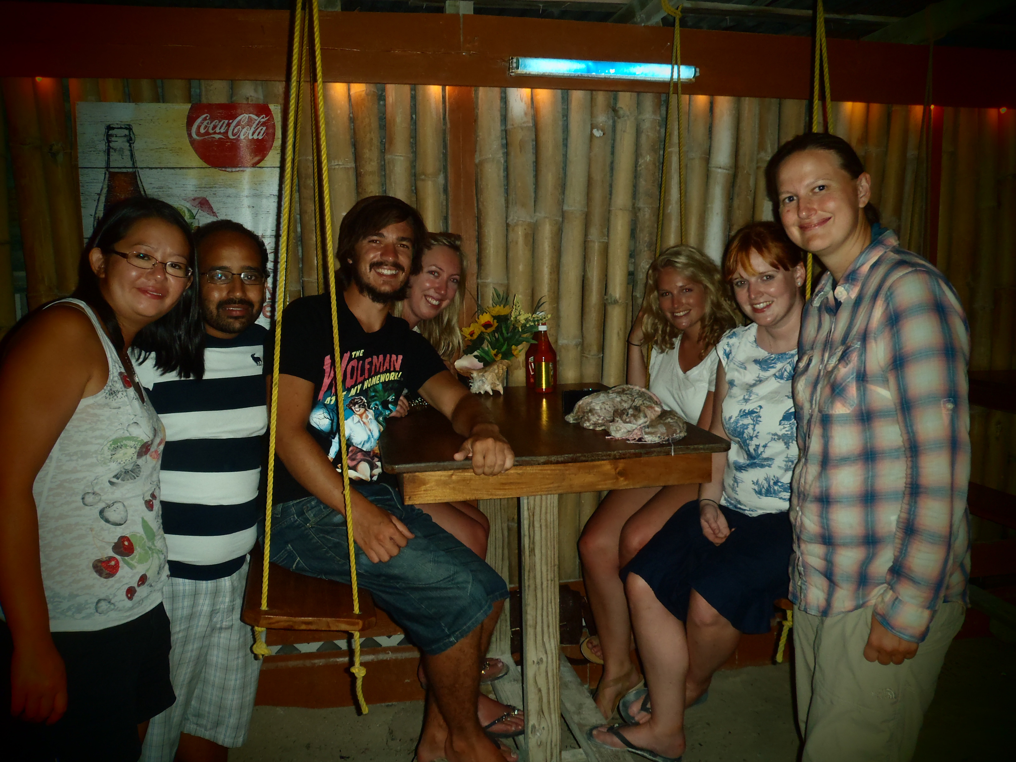 Abroad Doctor Mates and I; Caye Caulker, Belize; 2013