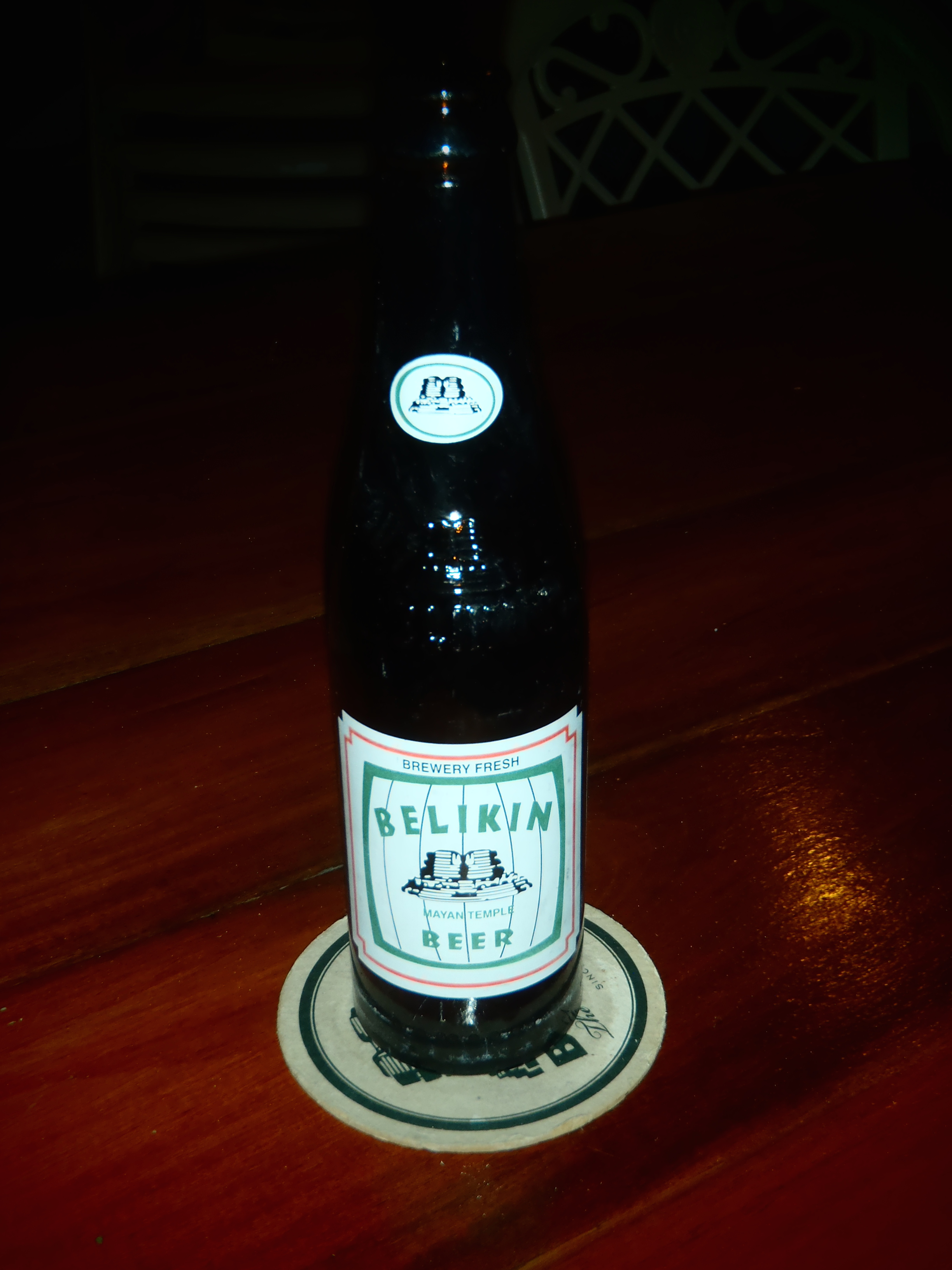 Belikin, the Beer of Belize; Caye Caulker, Belize; 2013