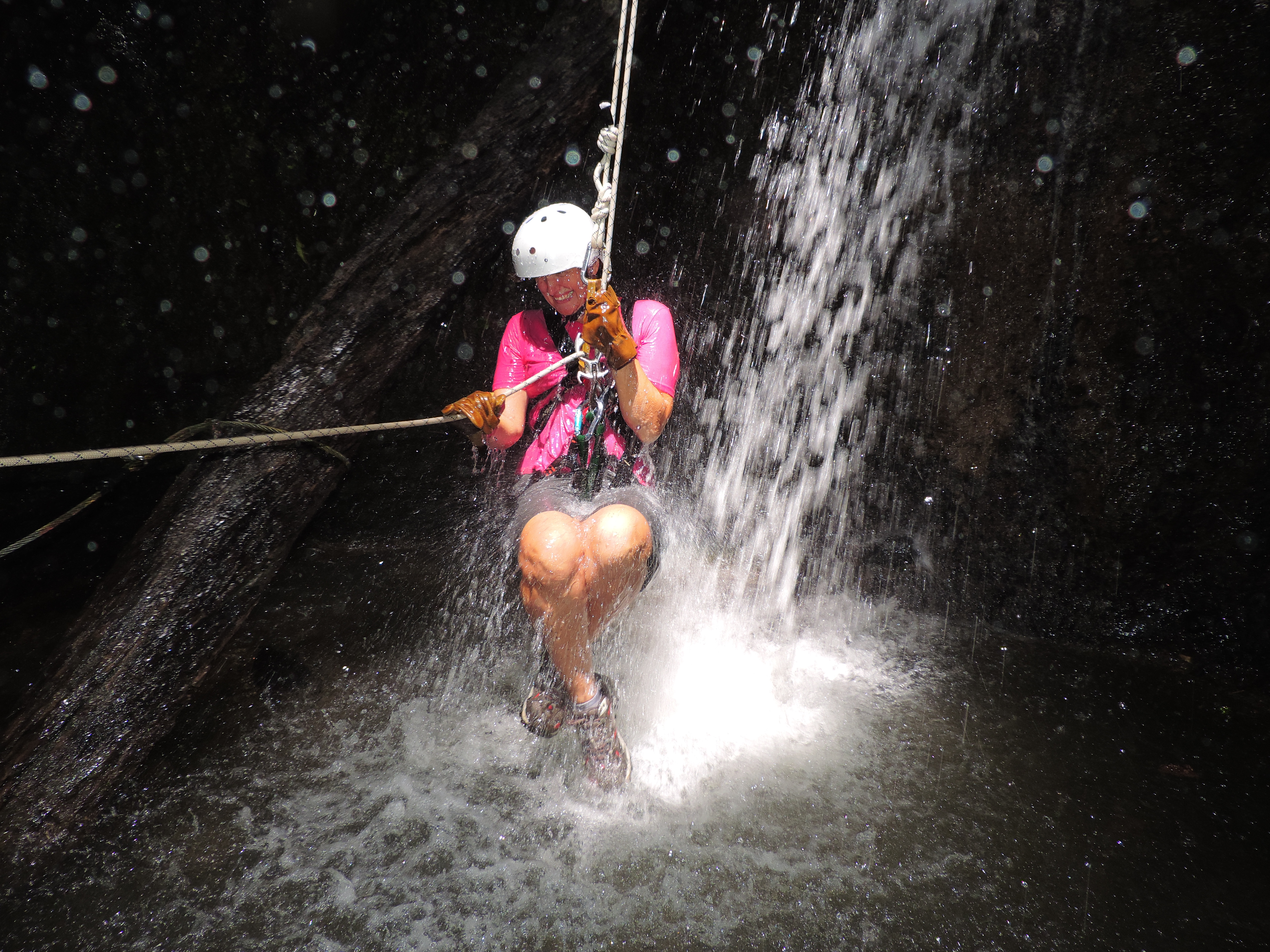 Waterfall Repelling; San Ramon, Costa Rica; 2013
