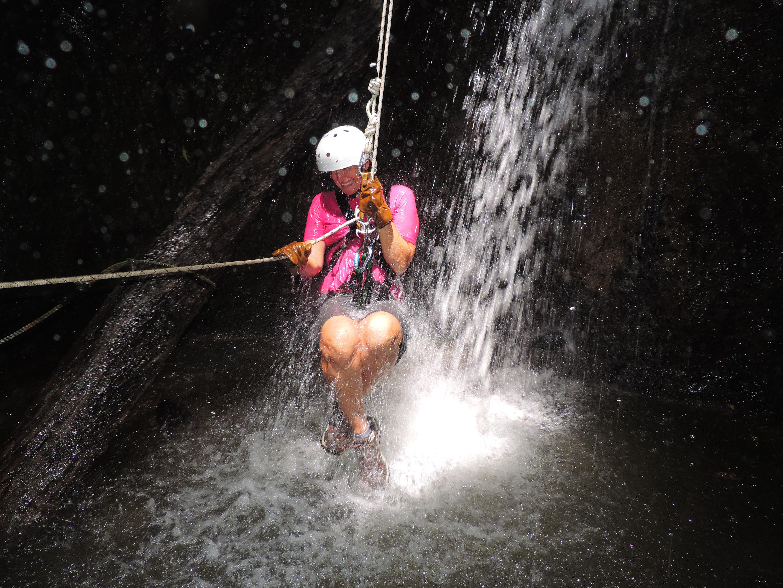 Waterfall Repelling; San Ramon, Costa Rica; 2013