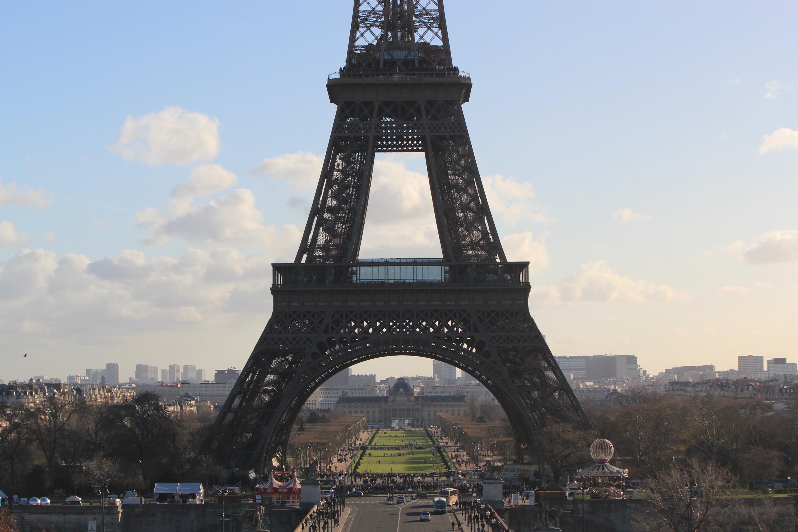 Eiffel Tower; Paris, France; 2011