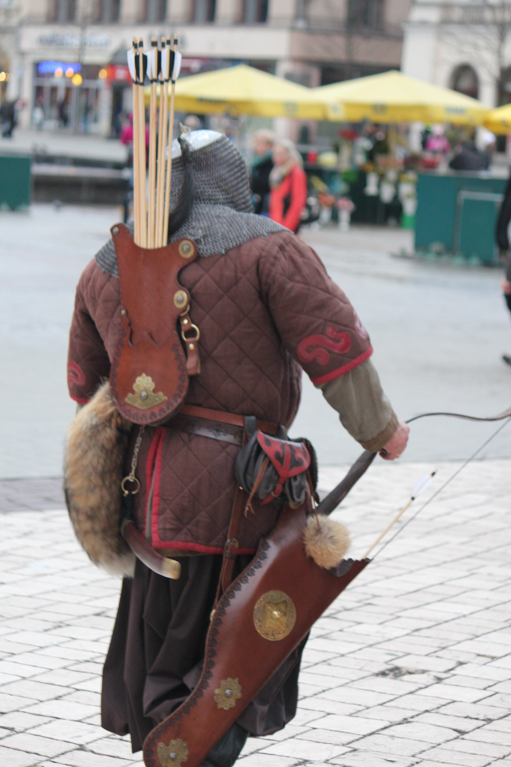 Squire with Arrows; Krakow, Poland; 2011