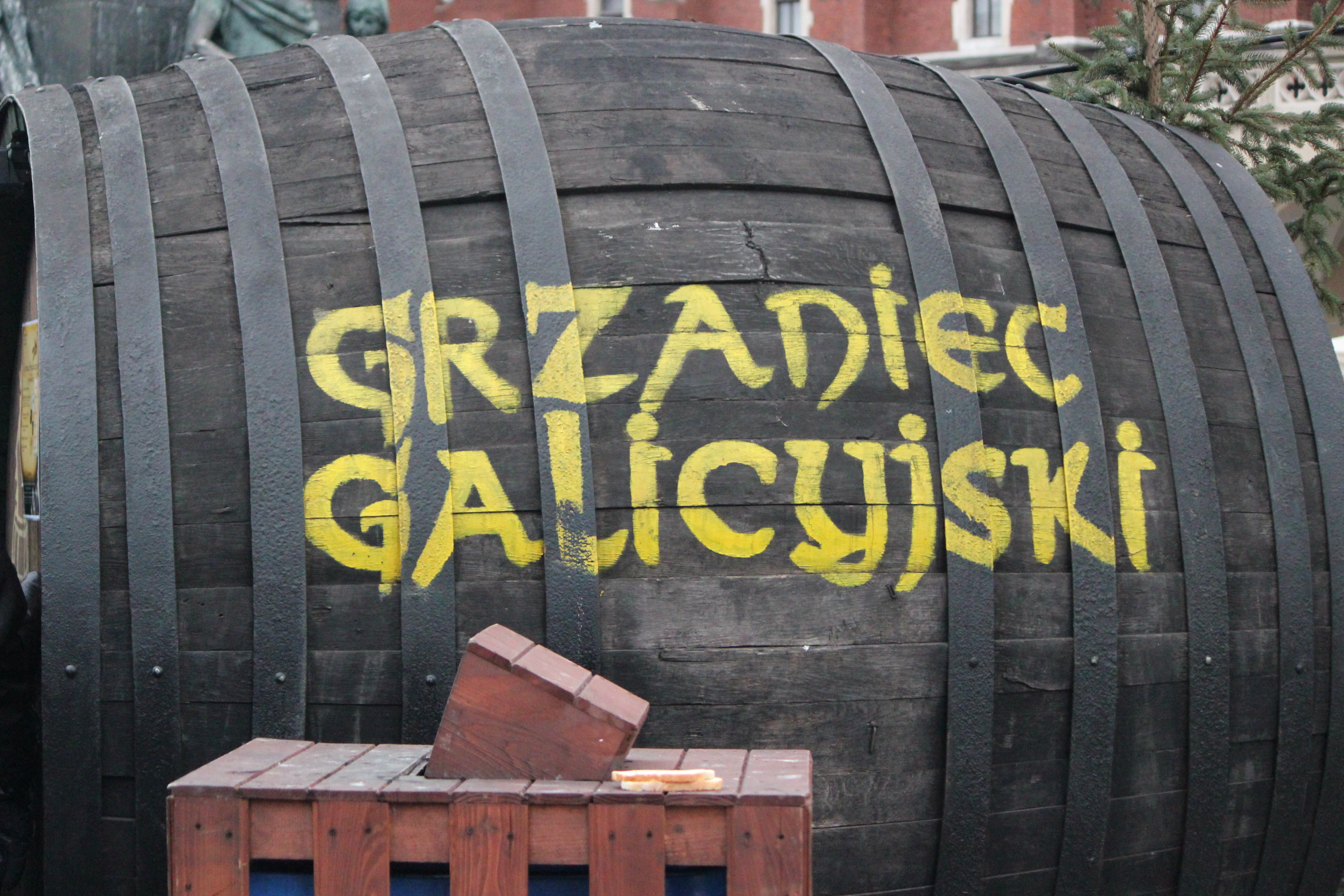 Barrel; Krakow, Poland; 2011