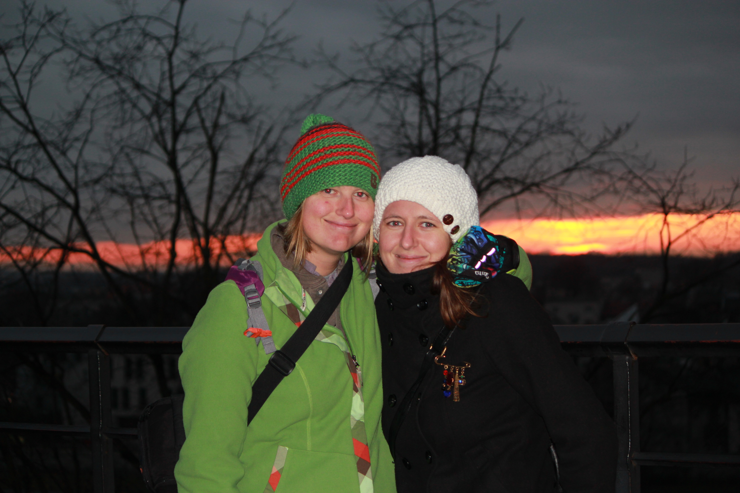 Beata and I; Krakow, Poland; 2011