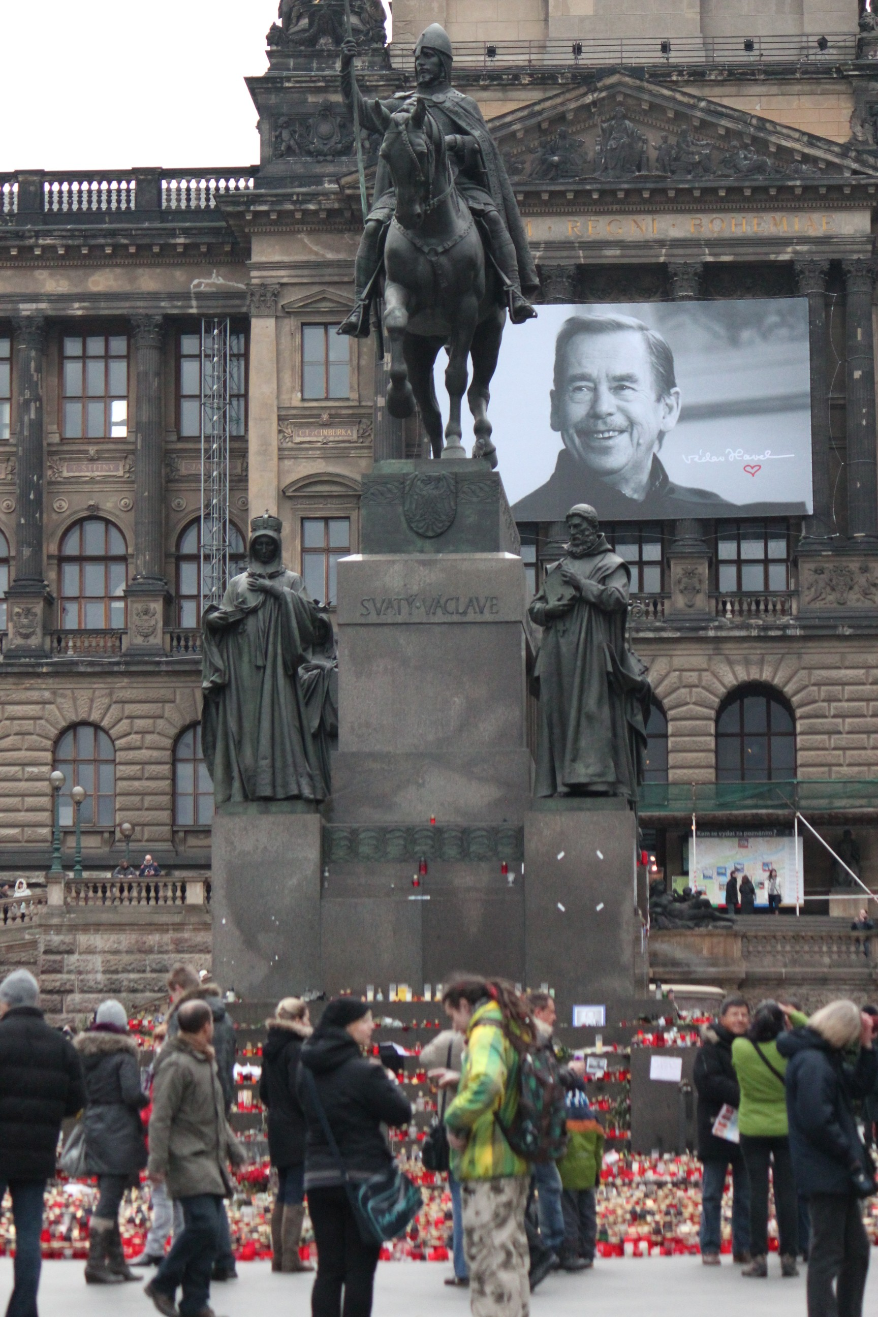 Portrait of Václav Havel; Prague, Czech Republic; 2011