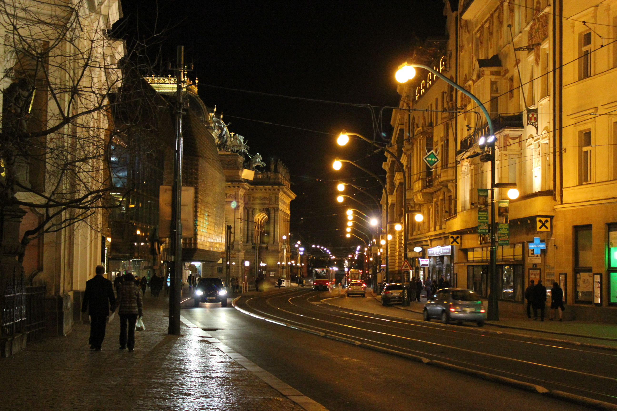 Nighttime in Prague; Czech Republic; 2011