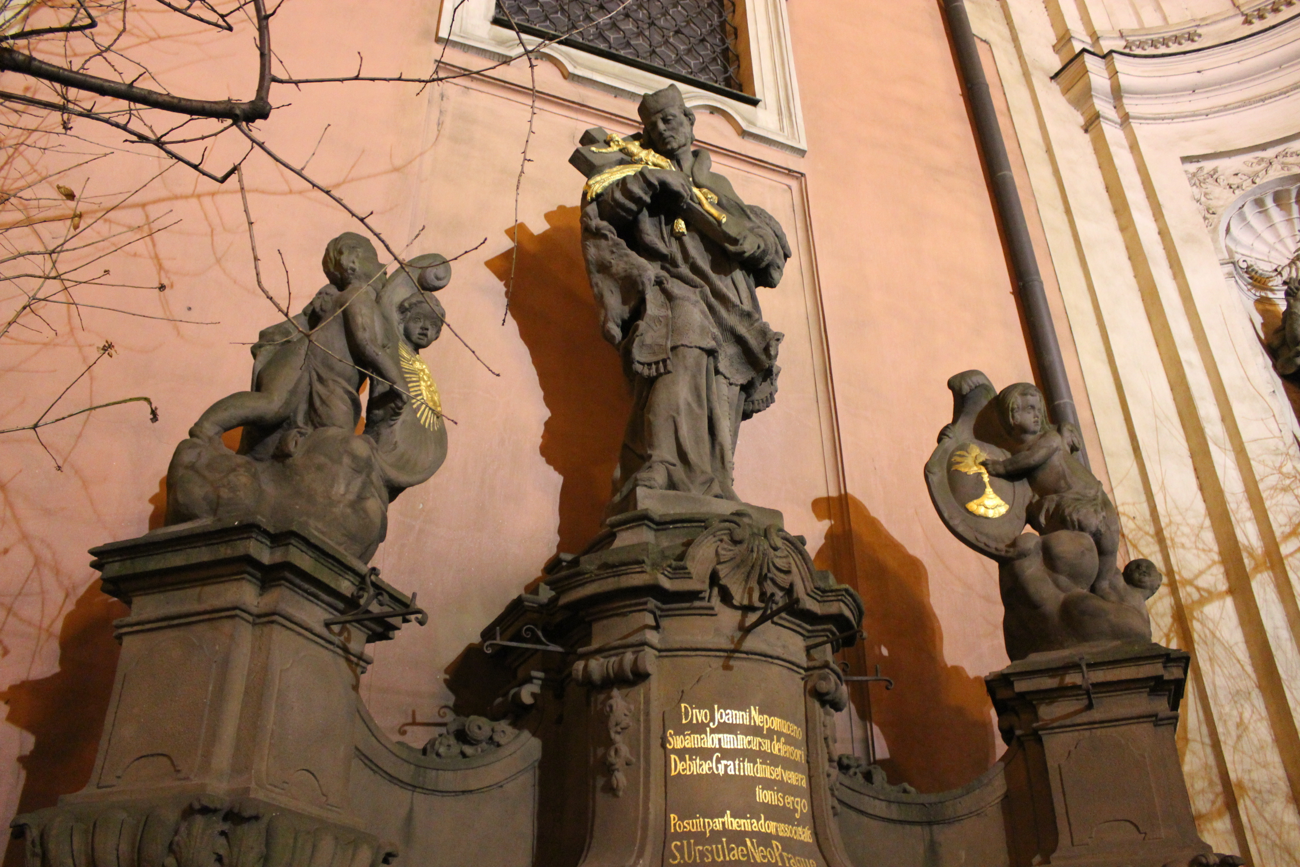 Statues; Prague, Czech Republic; 2011