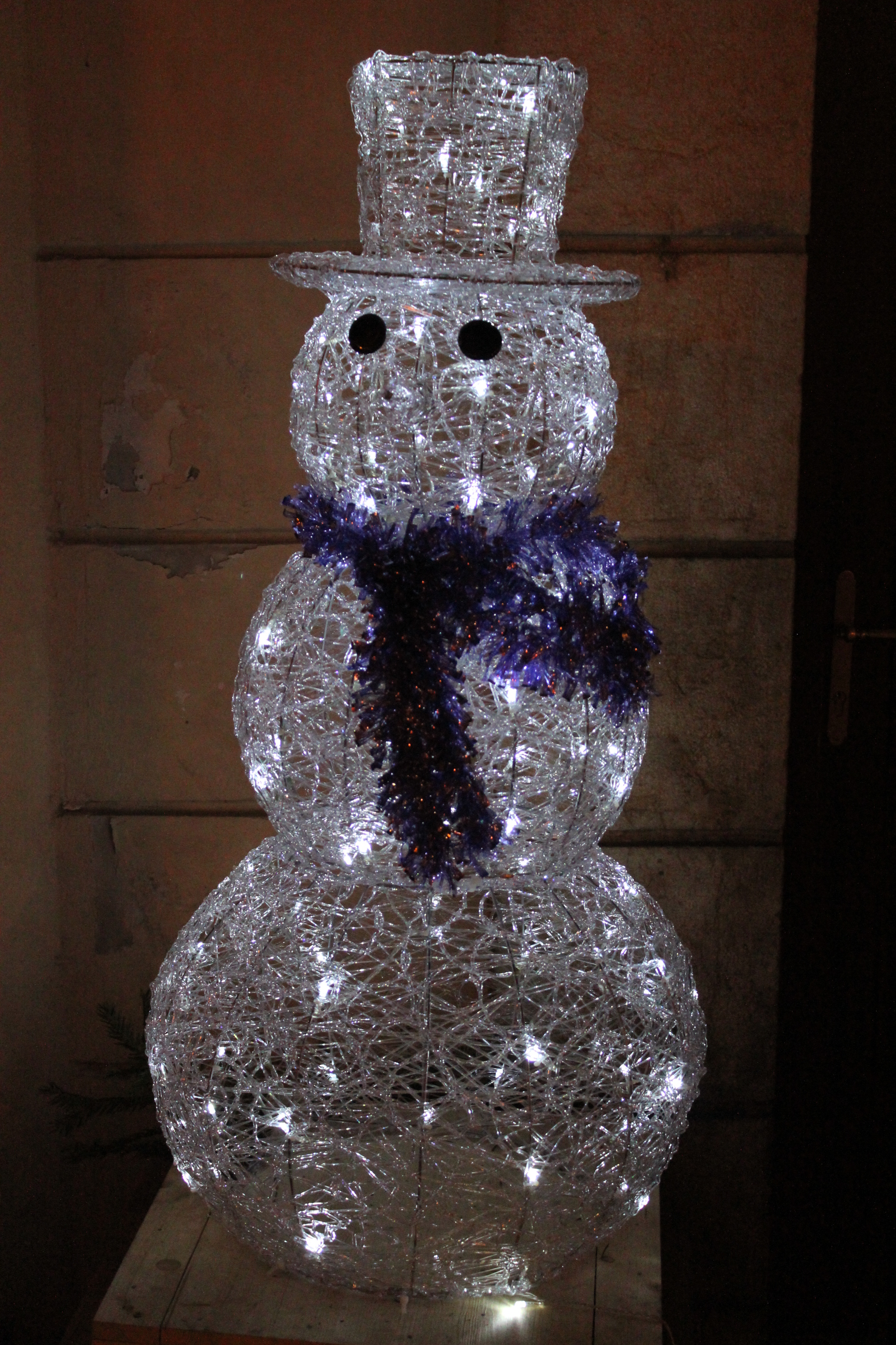 Snowman; Prague, Czech Republic; 2011