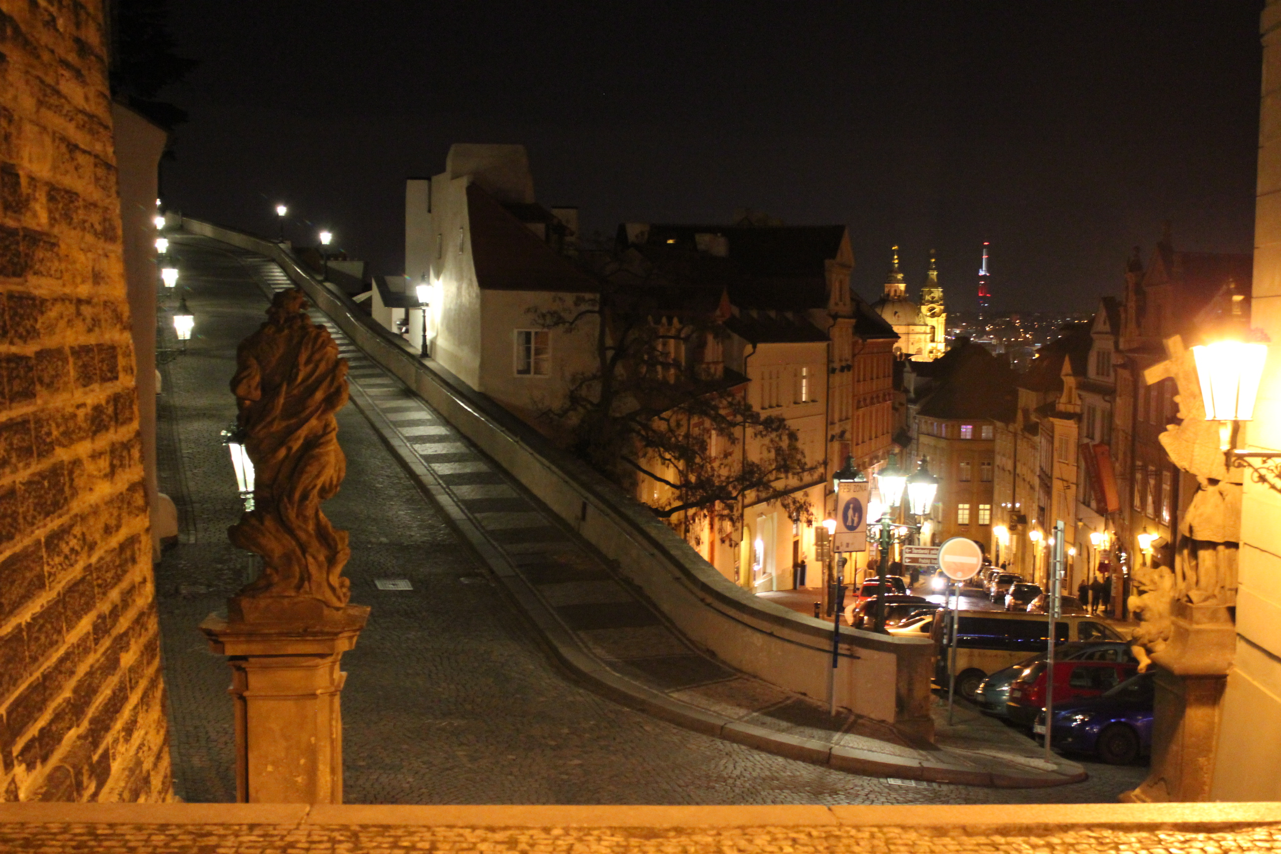 City Glimpse; Prague, Czech Republic; 2011