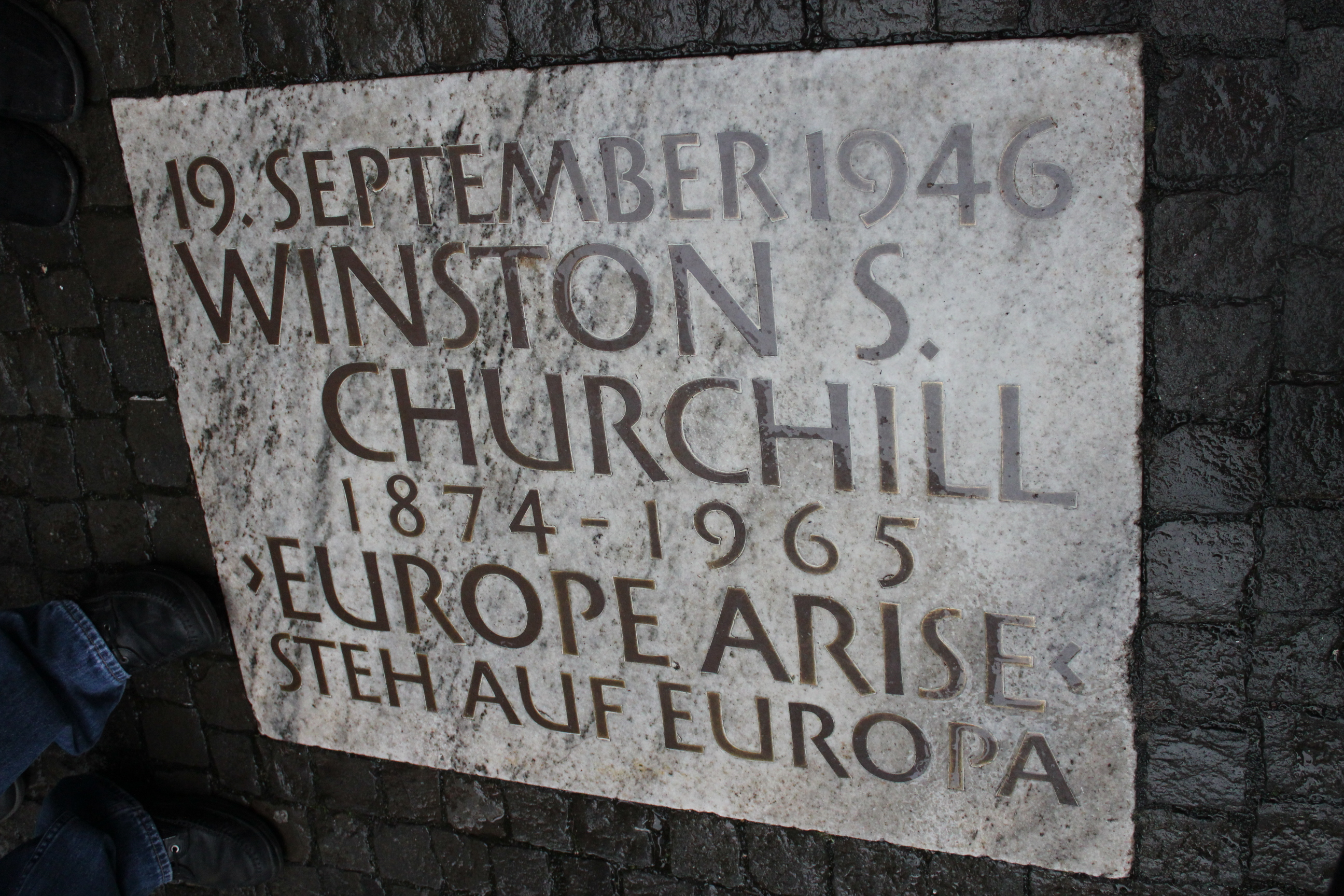 Winston Churchill; Zurich, Switzerland; 2011