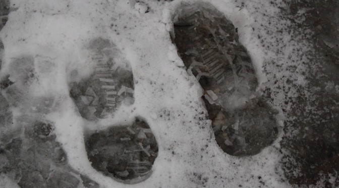 Snow Footprints; Zurich, Switzerland; 2011
