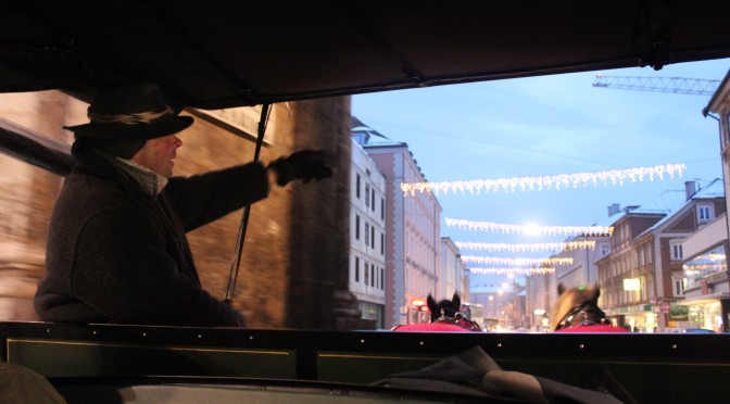 Inside the Horse Carriage; Innsbruck, Austria; 2012