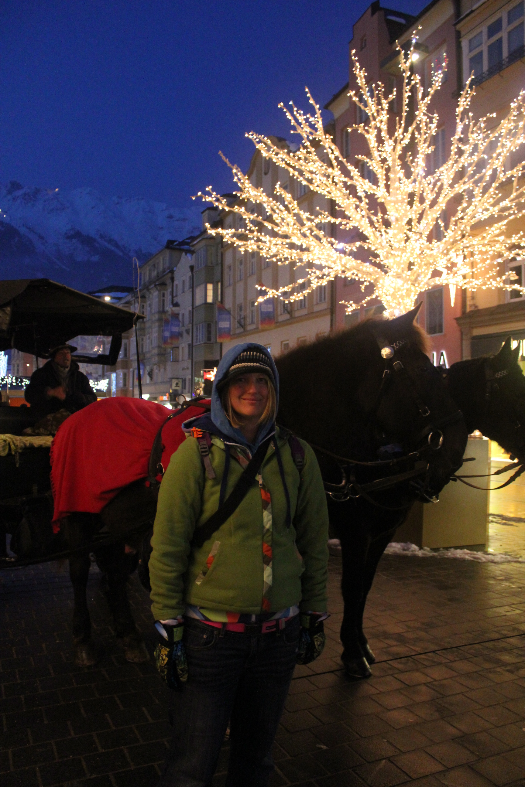 Horses and I; Innsbruck, Austria; 2012