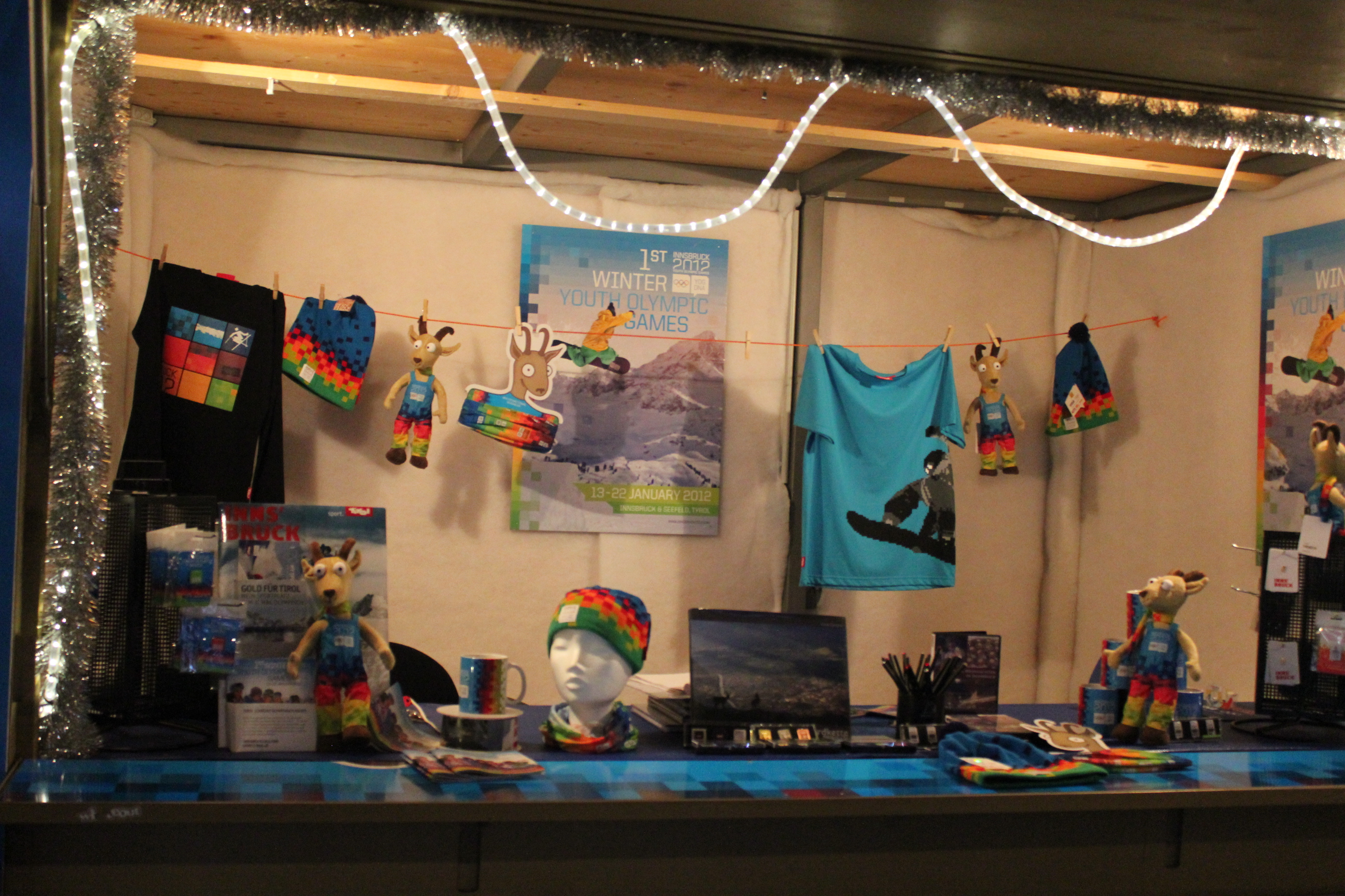 Youth Olympic Merchandise; Innsbruck, Austria; 2012