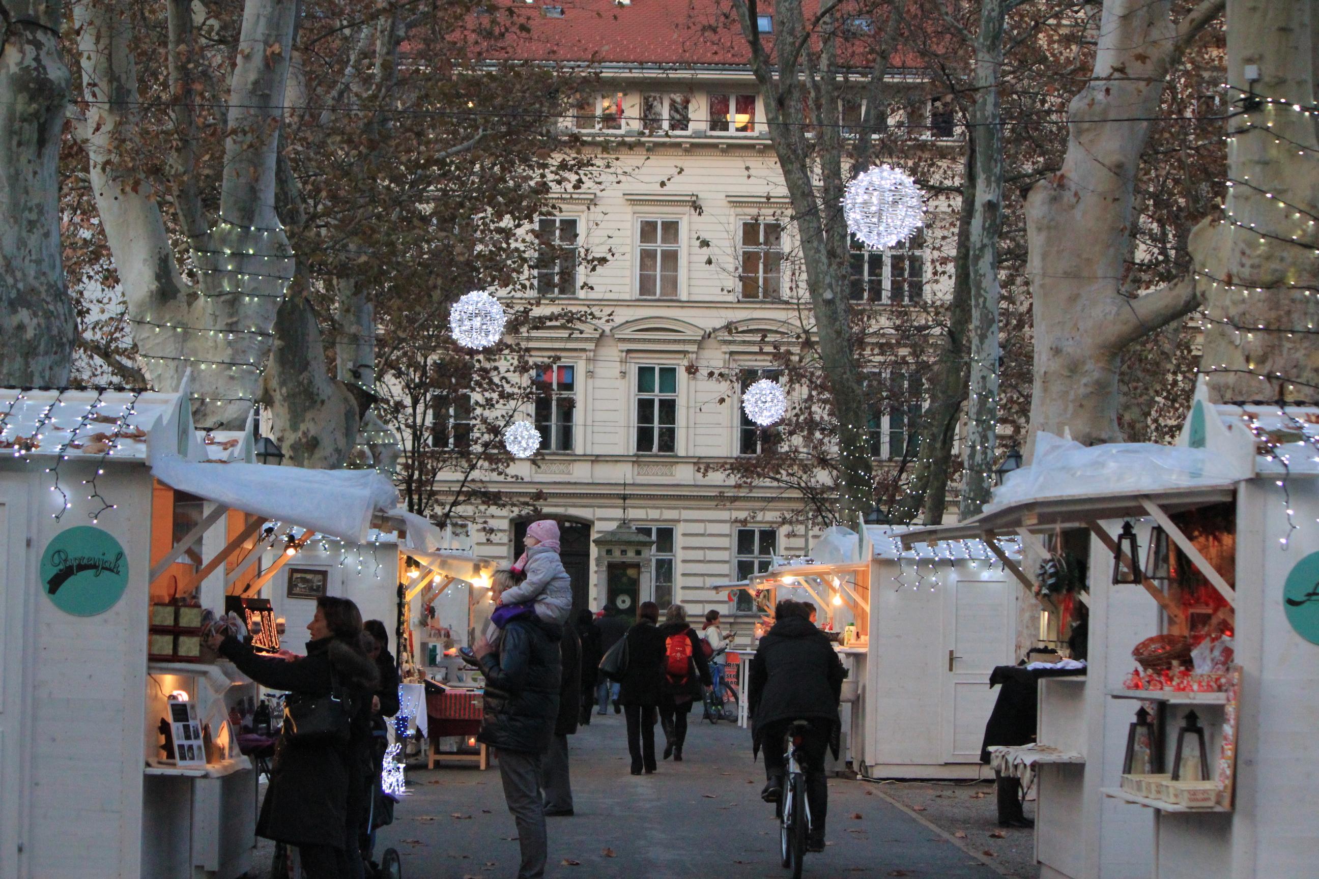 Christmas Markets; Zagreb, Croatia; 2011