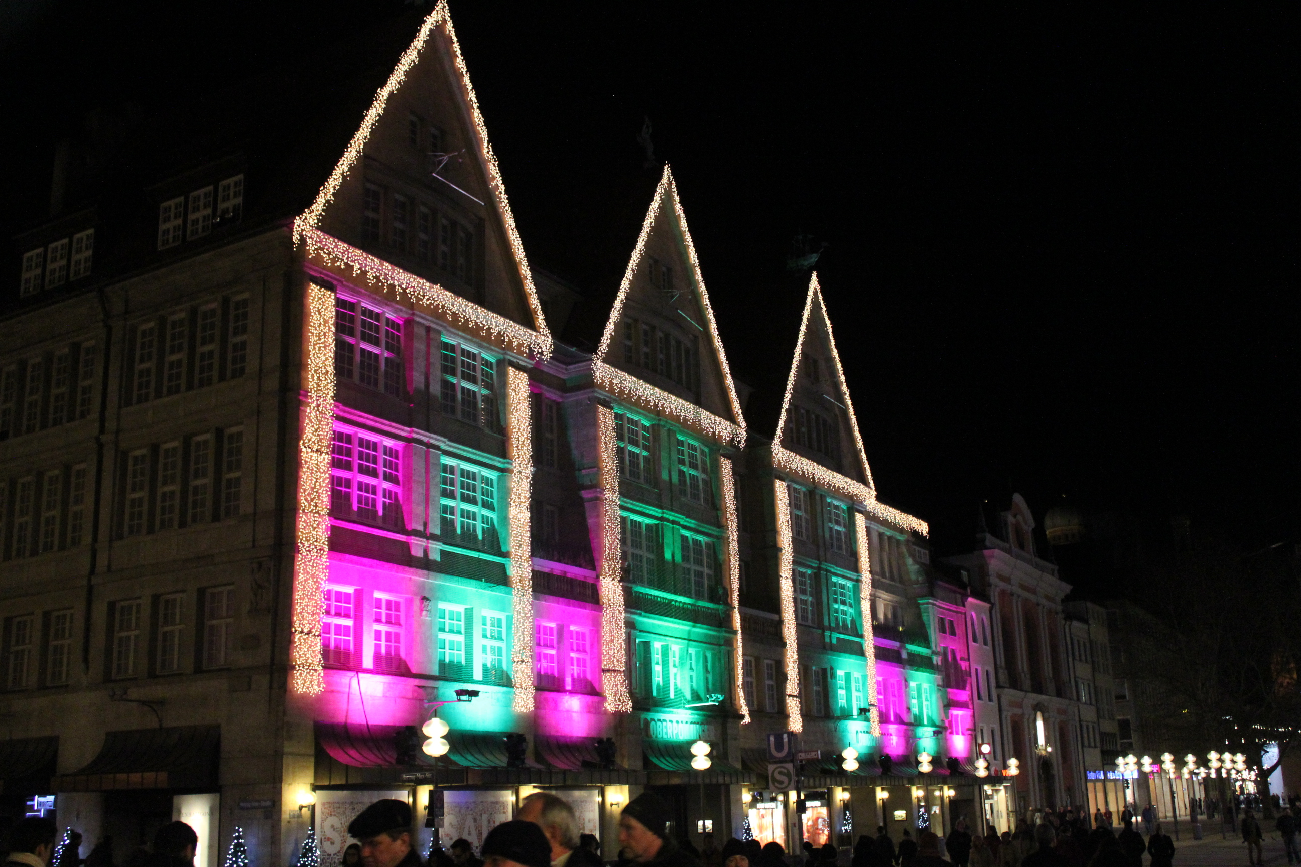 Christmas Lights; Munich, Germany; 2012