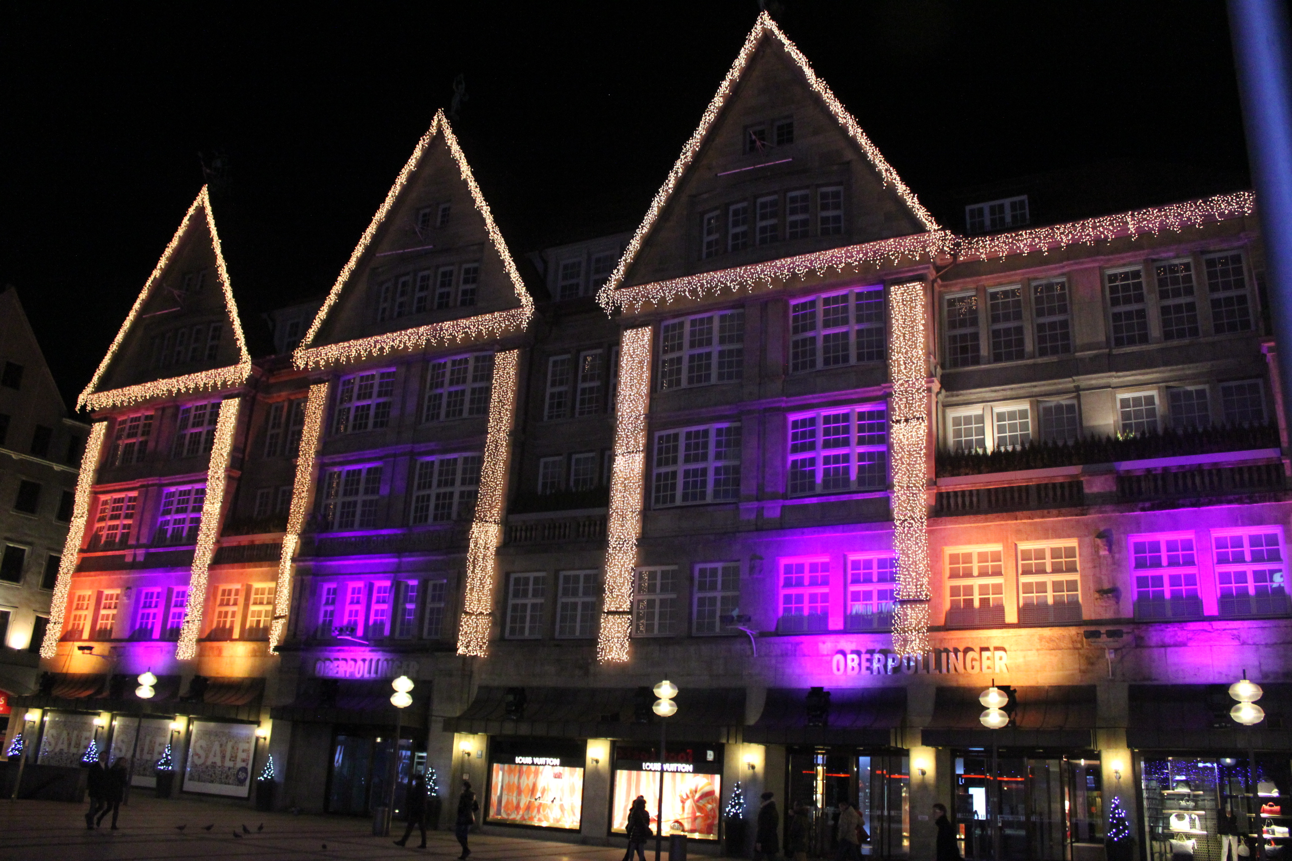 Purple Lights; Munich, Germany; 2012