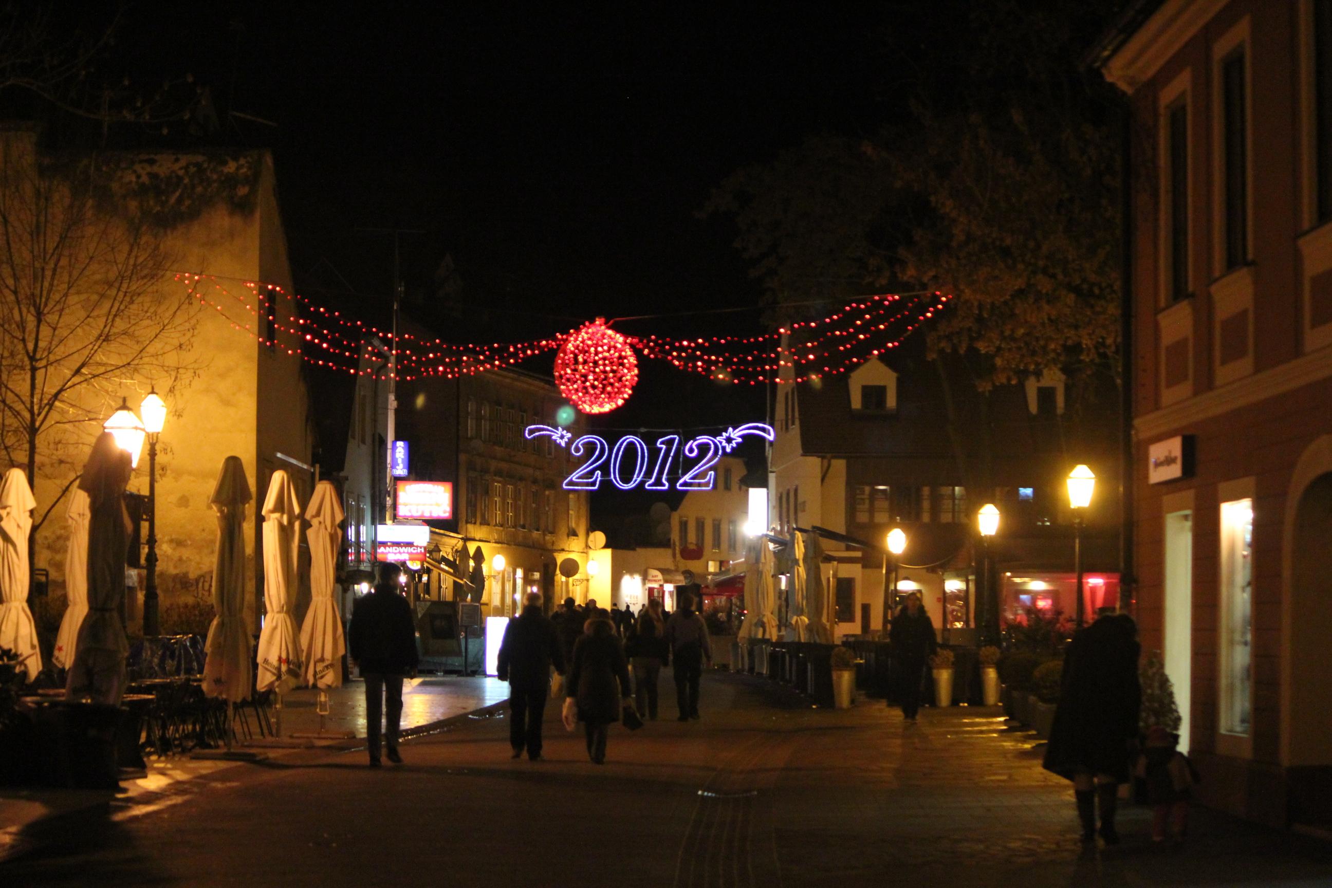 2012 Sign; Zagreb, Croatia; 2011