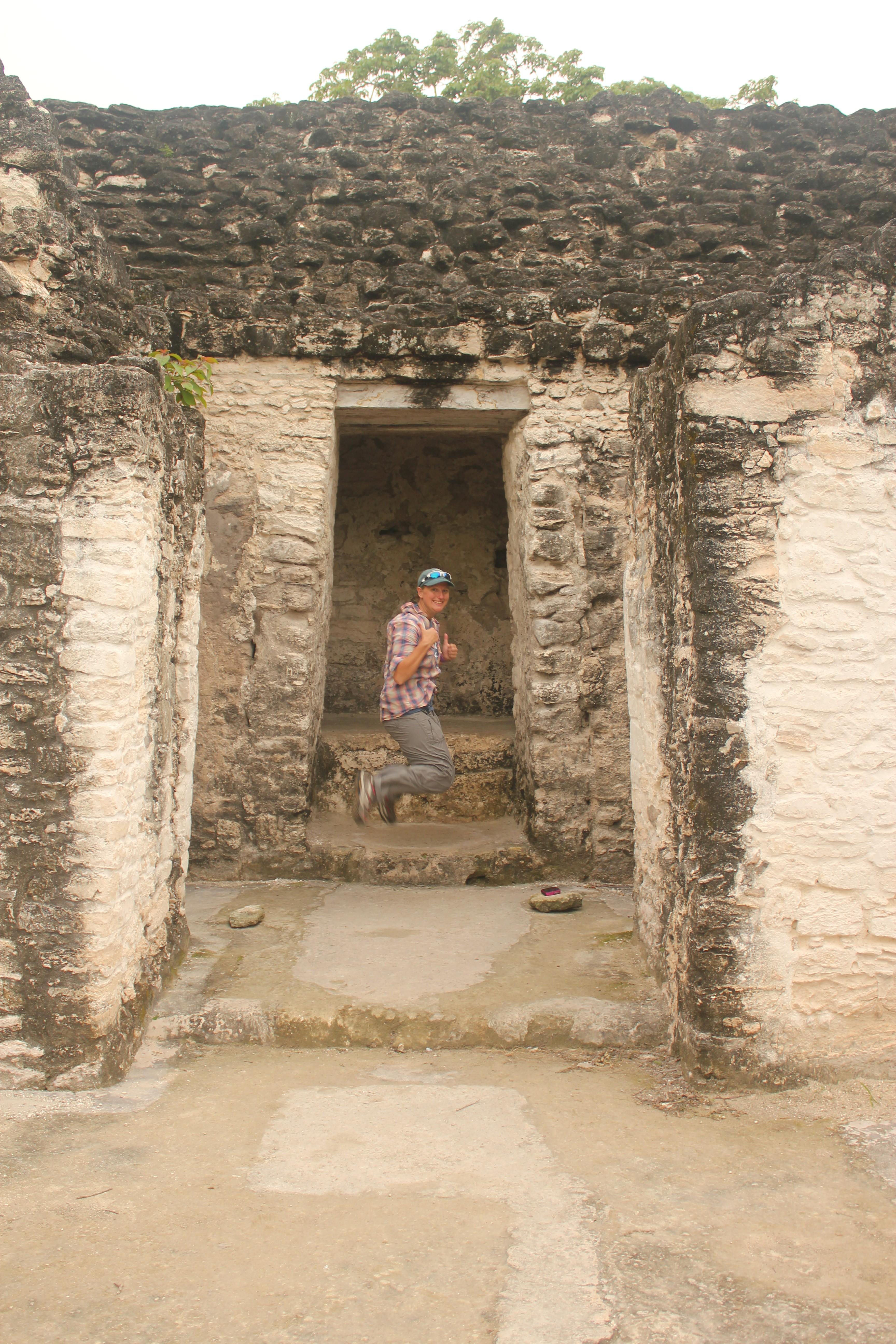 Signature Jumpin' Photograph; Tikal, Guatemala; 2013