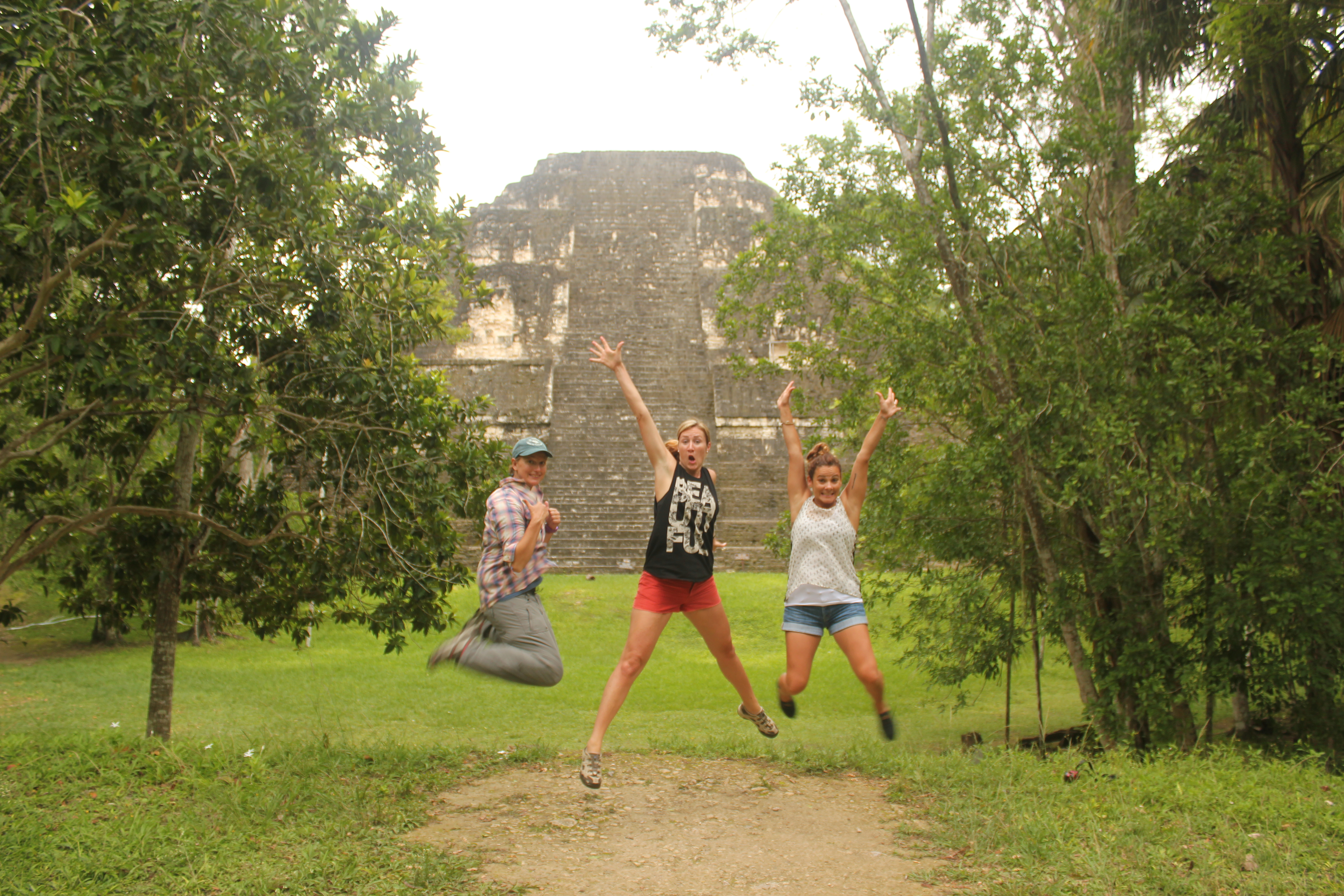 The Cali Girls and I; Tikal, Guatemala; 2013