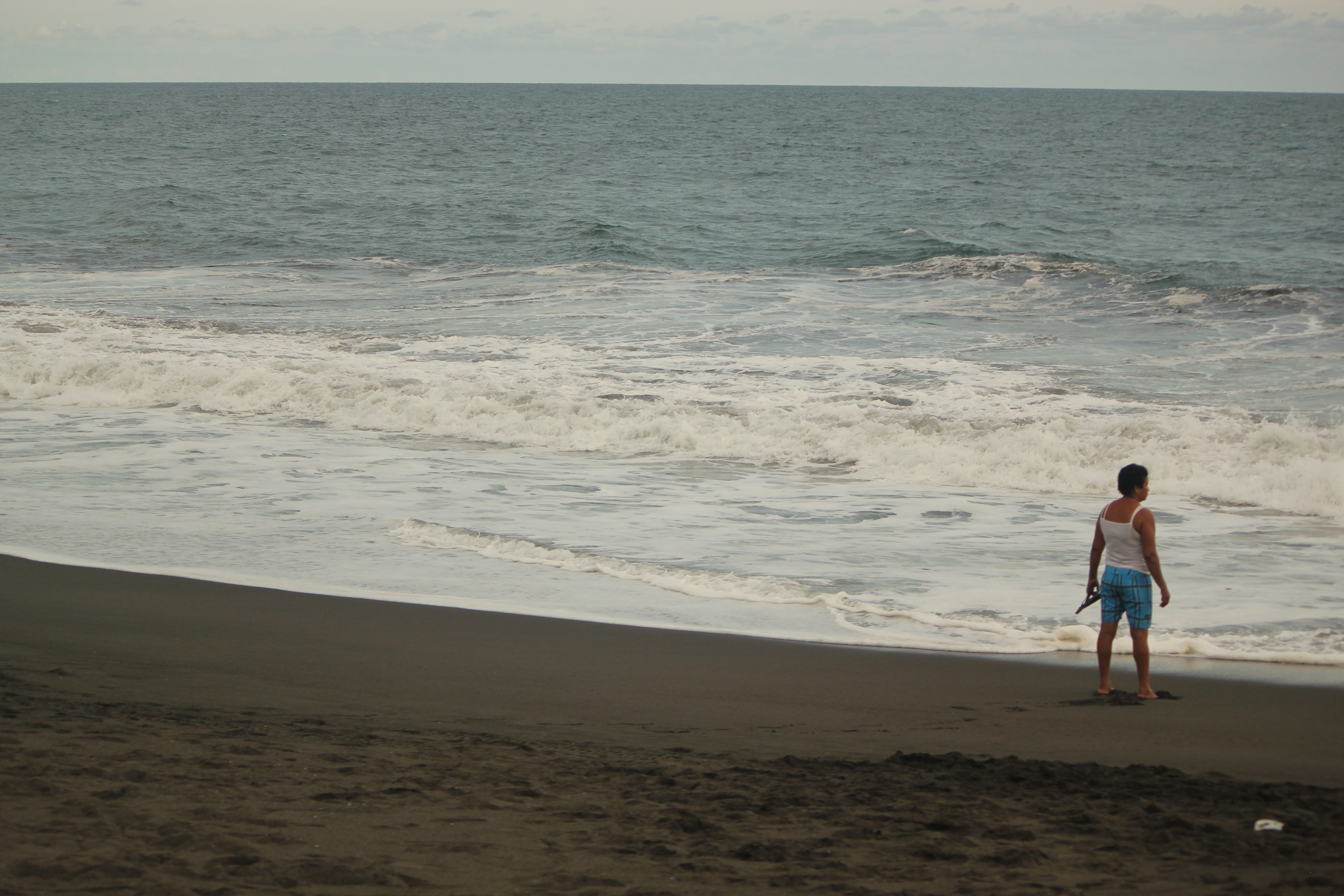 Solitude; Monterrico, Guatemala; 2013