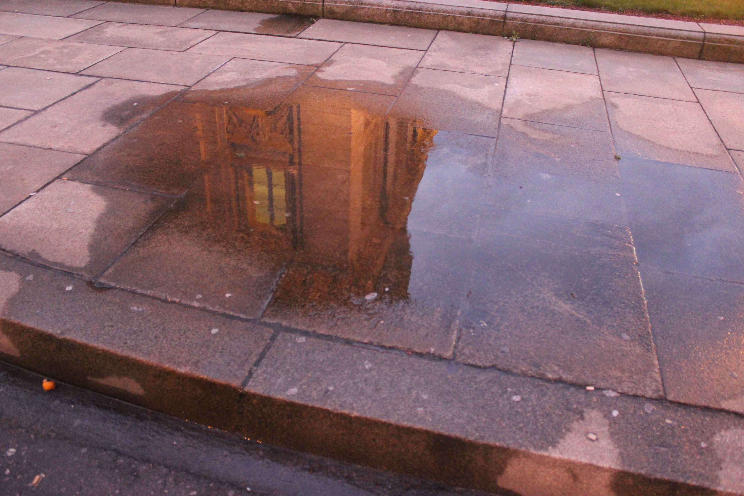 Reflection of Building; Luxembourg City, Luxembourg; 2012