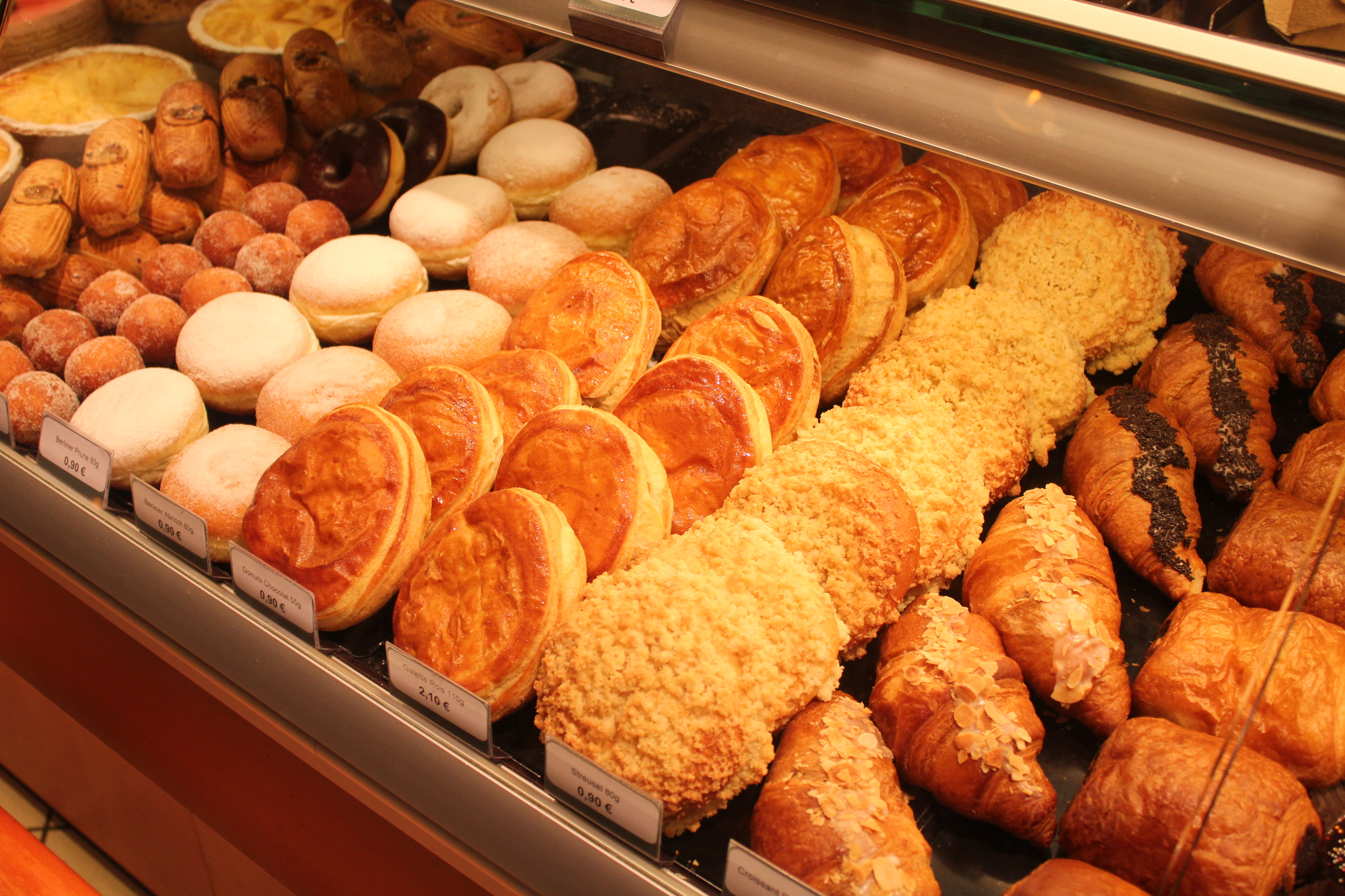 Pastries; Luxembourg City, Luxembourg; 2012