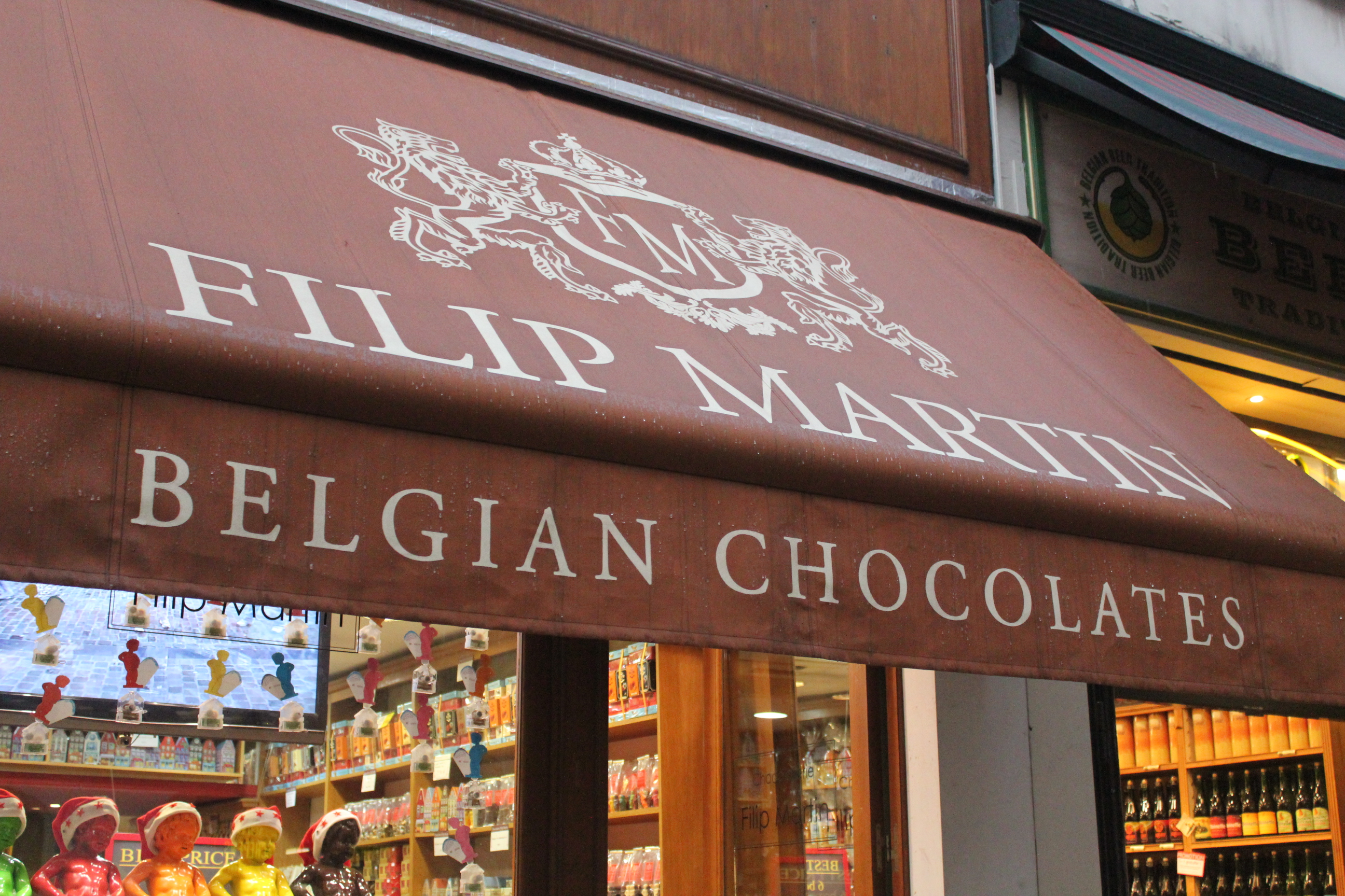 Belgian Chocolates; Brussels, Belgium; 2012