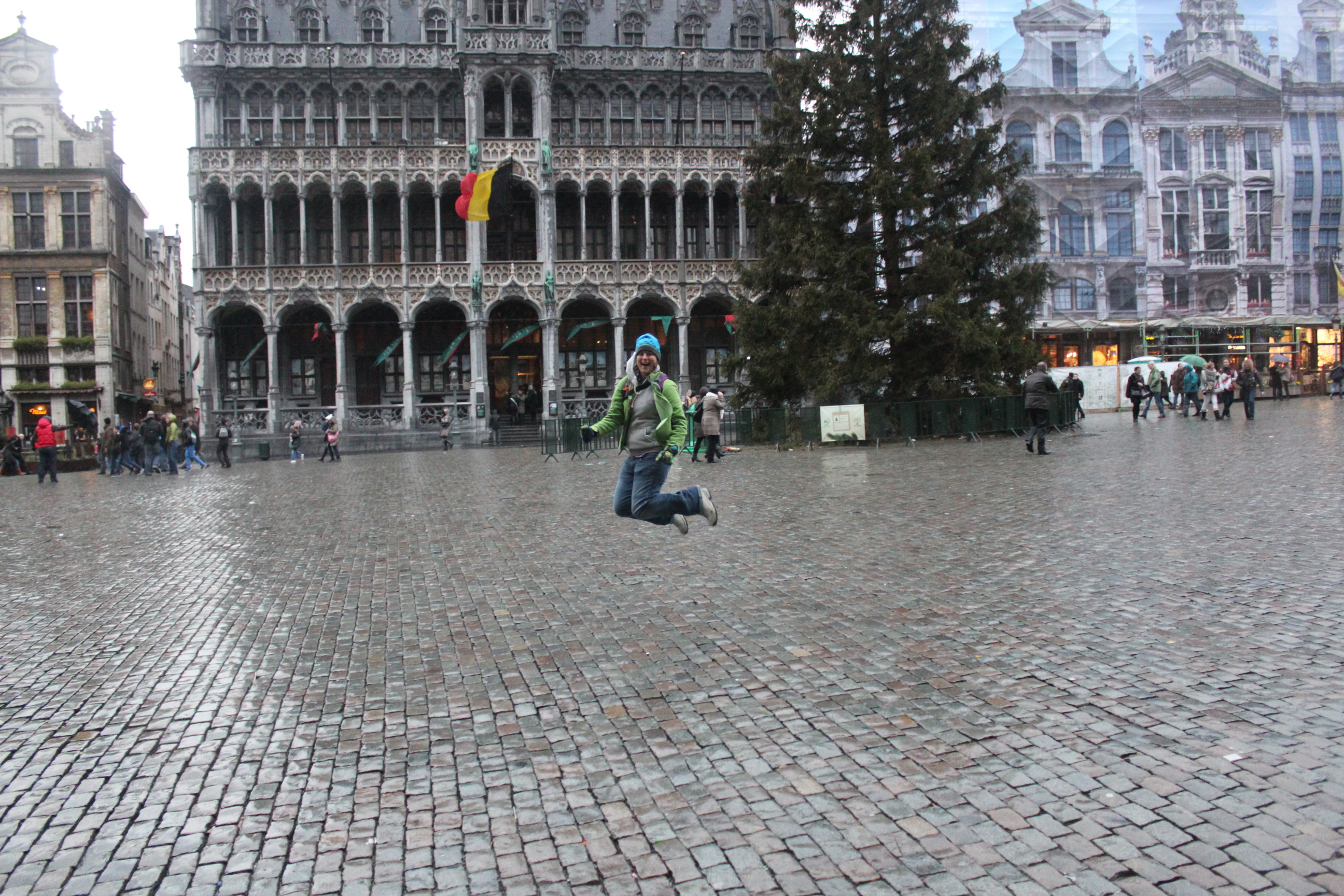 Signature Jumpin' Photograph; Brussels, Belgium; 2012