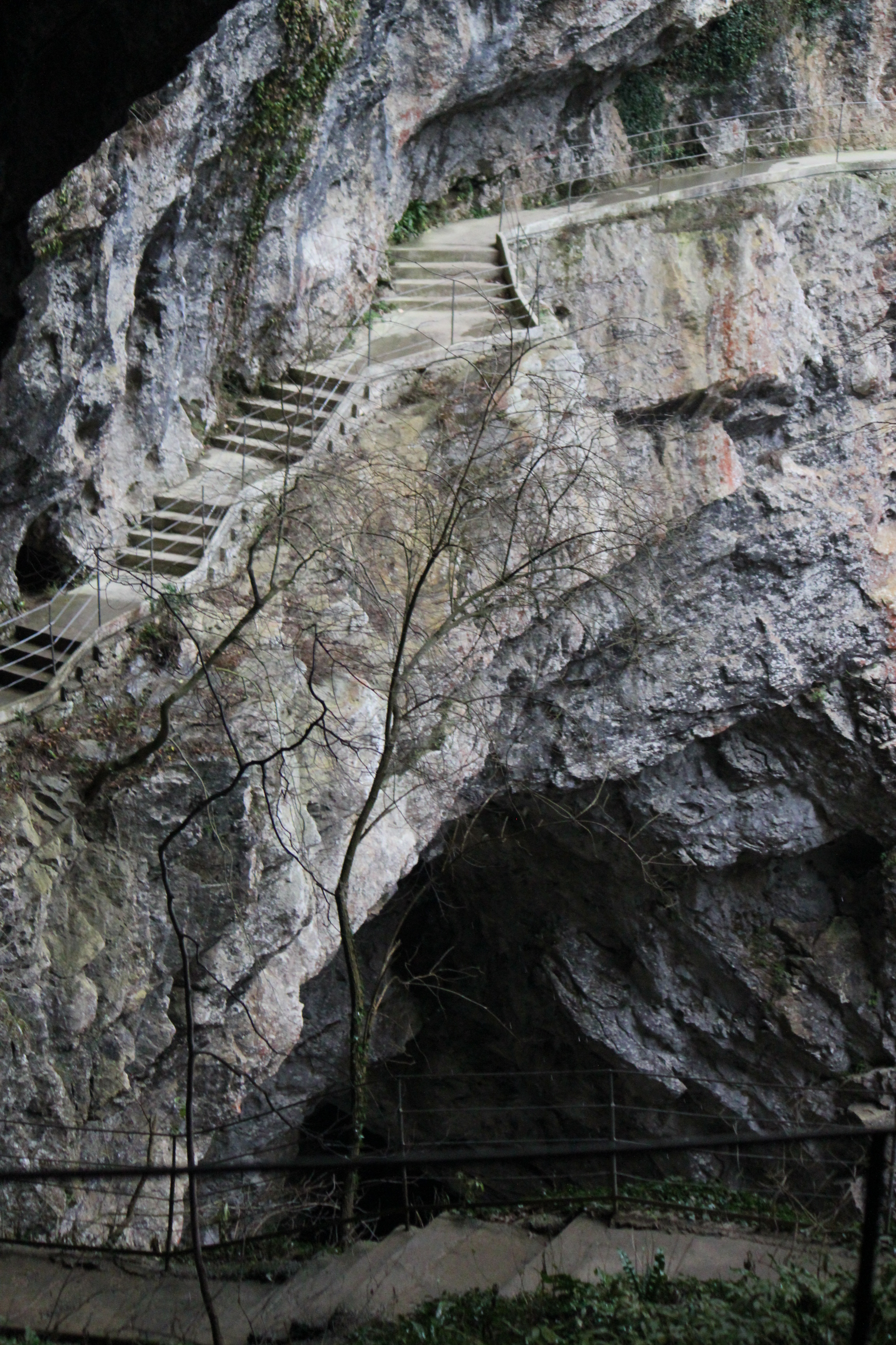 Steps Leading to Cave; Skojcan Caves; Slovenia; 2011