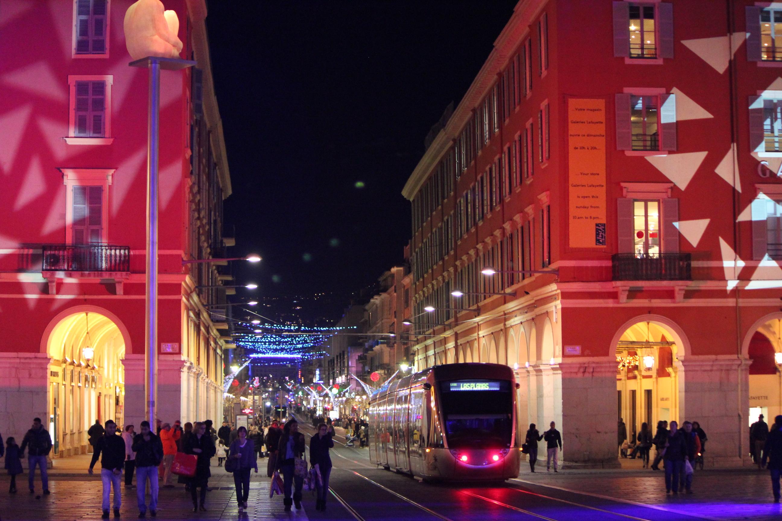 Christmas Downtown; Nice, France; 2011