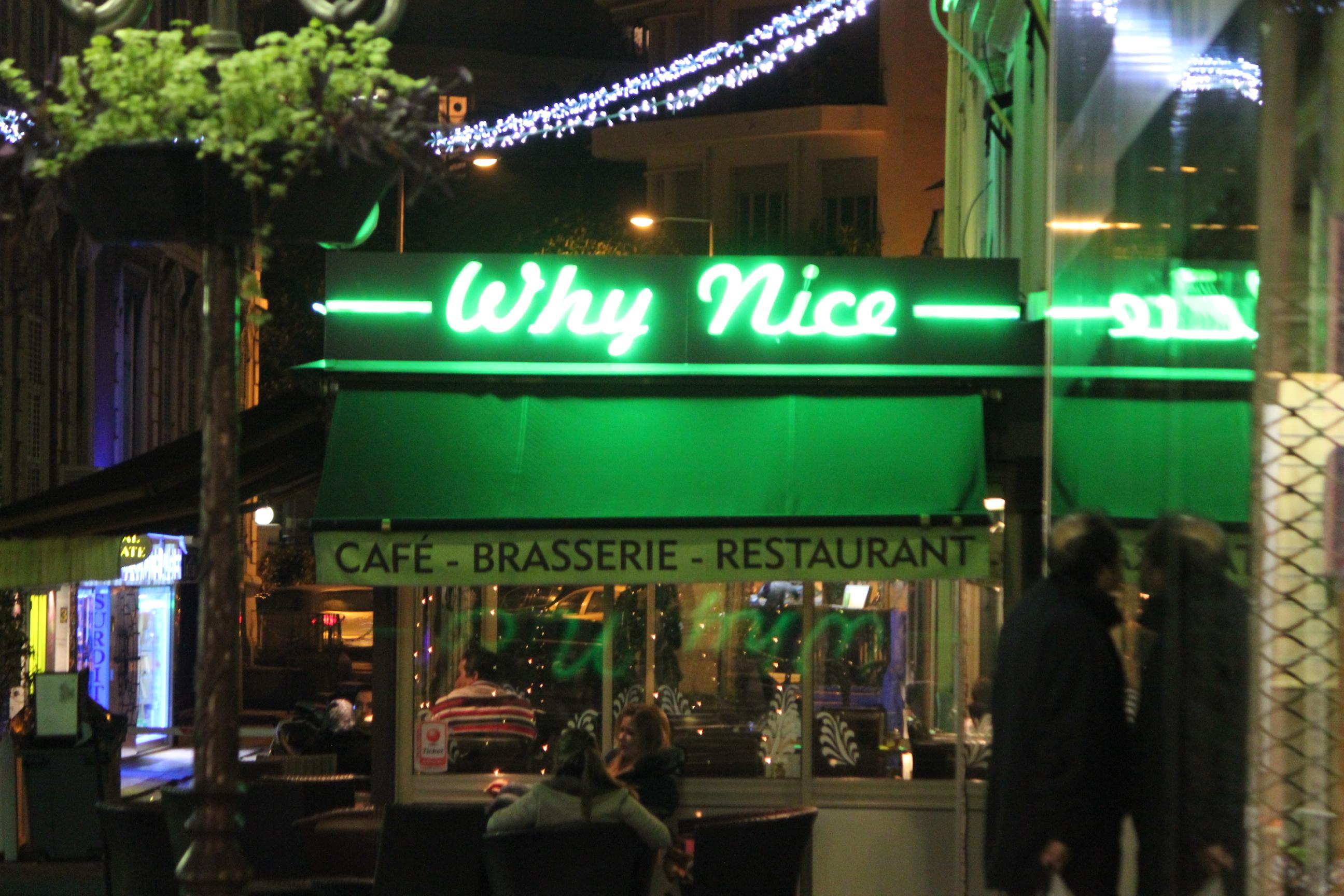 Why Nice Restaurant; Nice, France; 2011