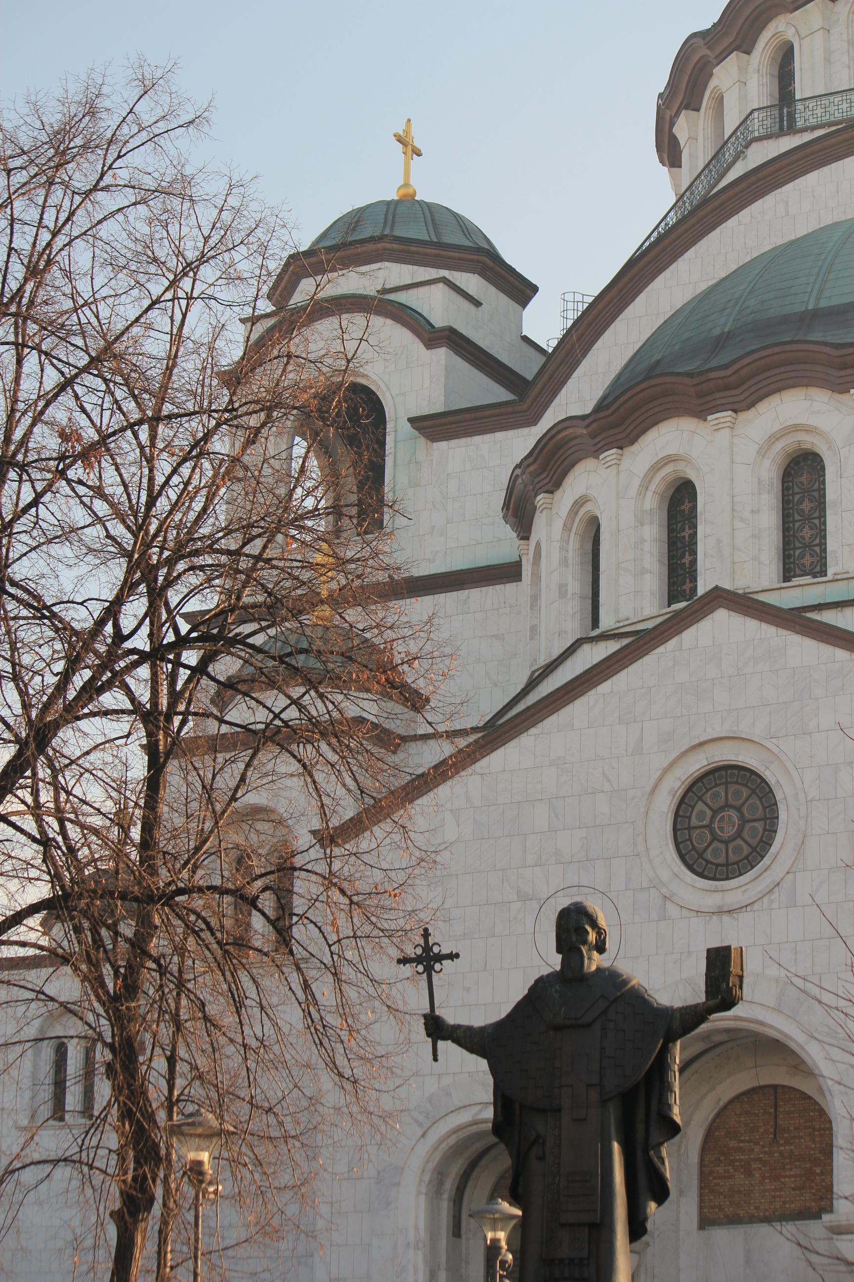 Temple of Saint Sava; Belgrade, Serbia; 2011