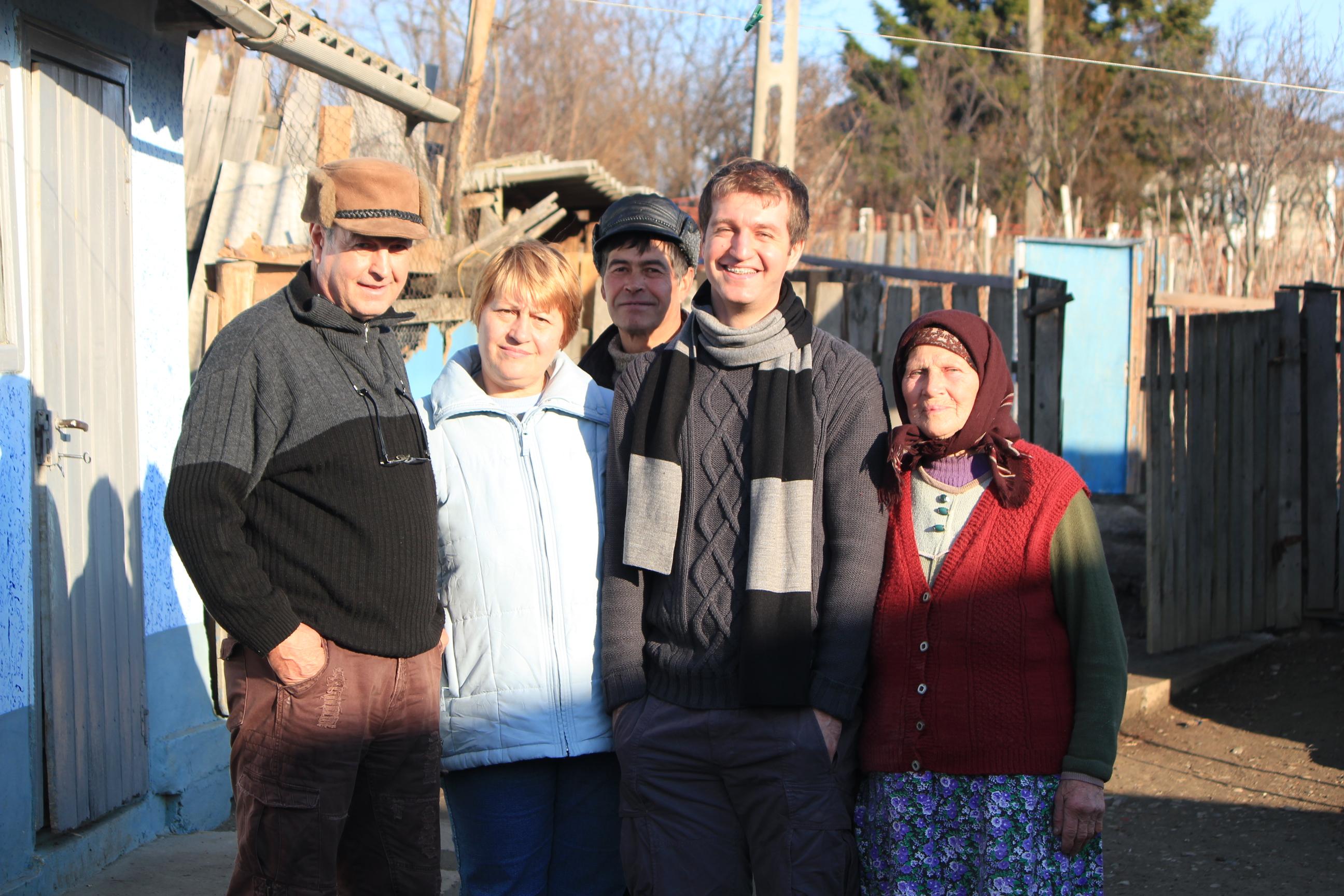 Adrian's Family; Romania; 2011