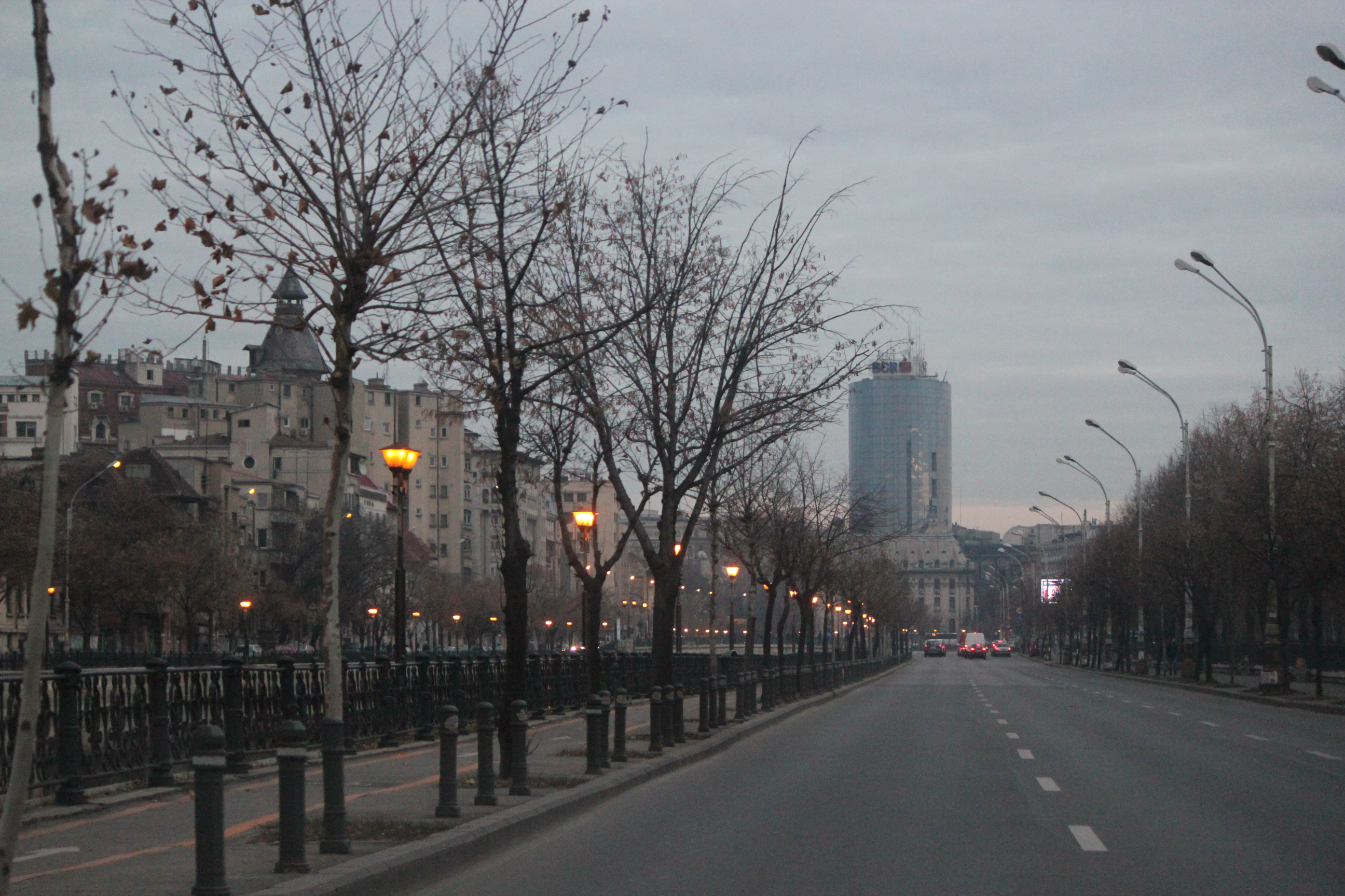 Entering the City; Bucharest, Romania; 2011