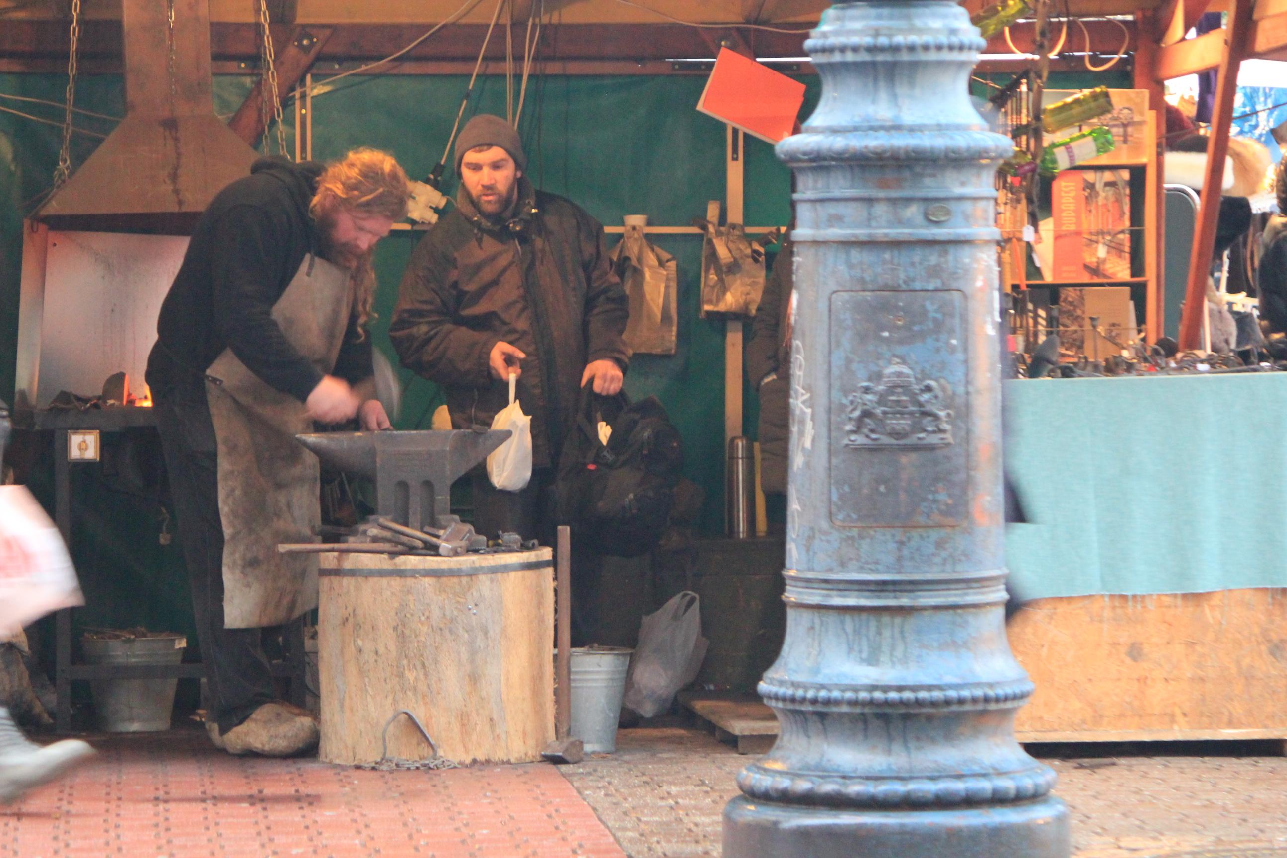 Blacksmith; Budapest, Hungary; 2011
