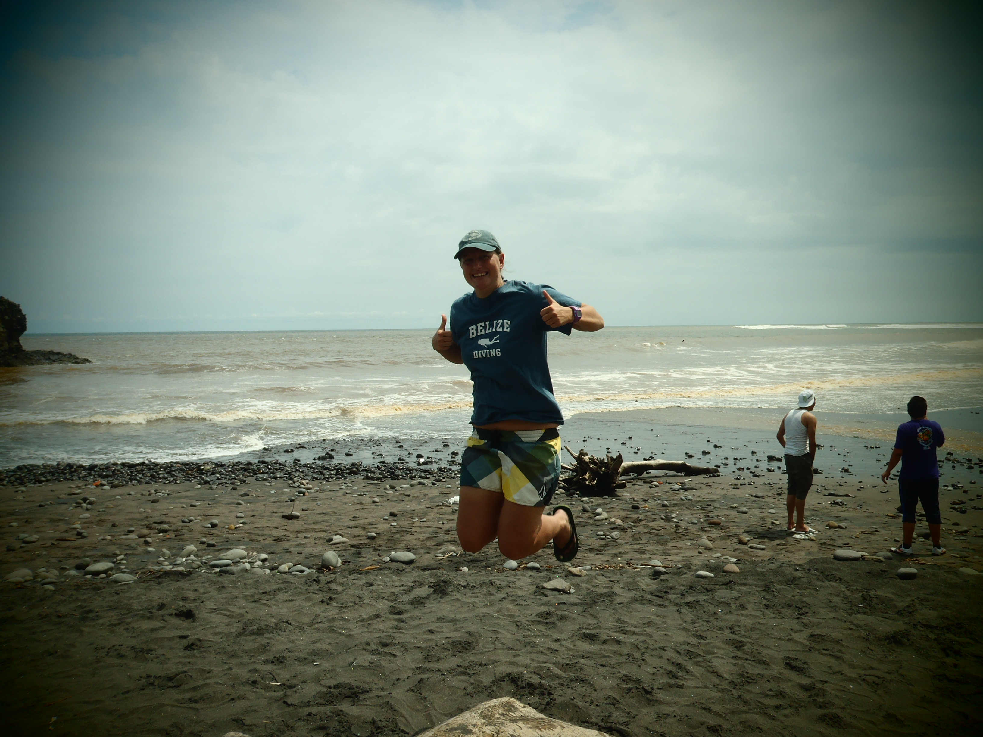 Signature Jumpin' Photograph; El Tunco, El Salvador; 2013