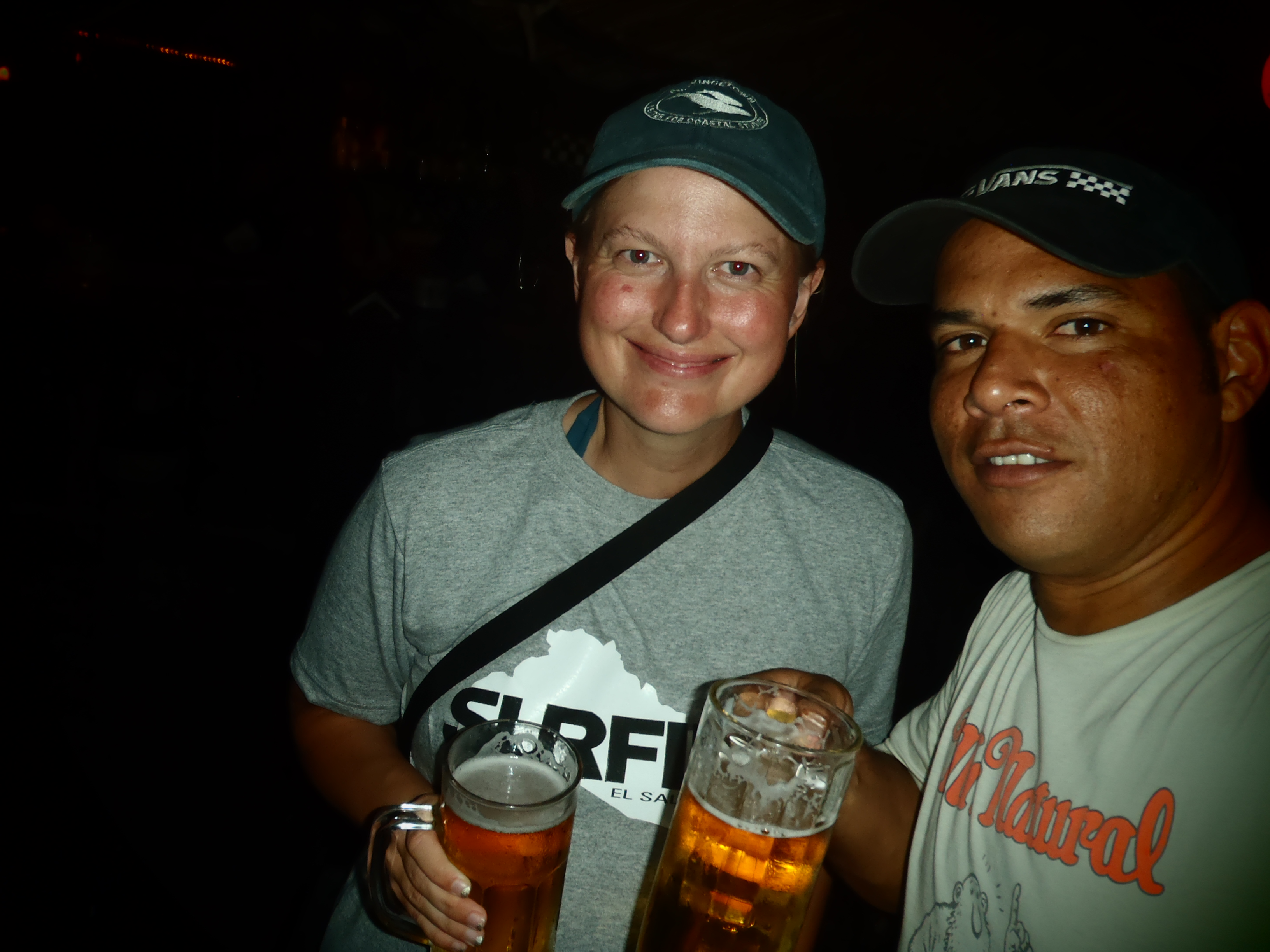 Proper Night Out; El Tunco, El Salvador; 2013