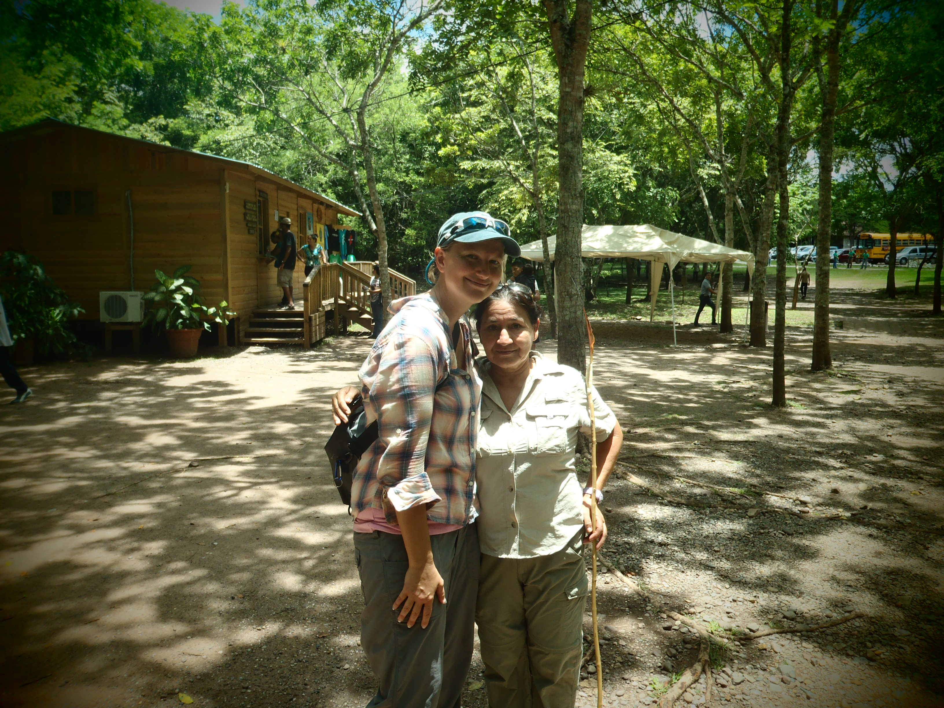 My Tour Guide and I; Copan, Honduras; 2013