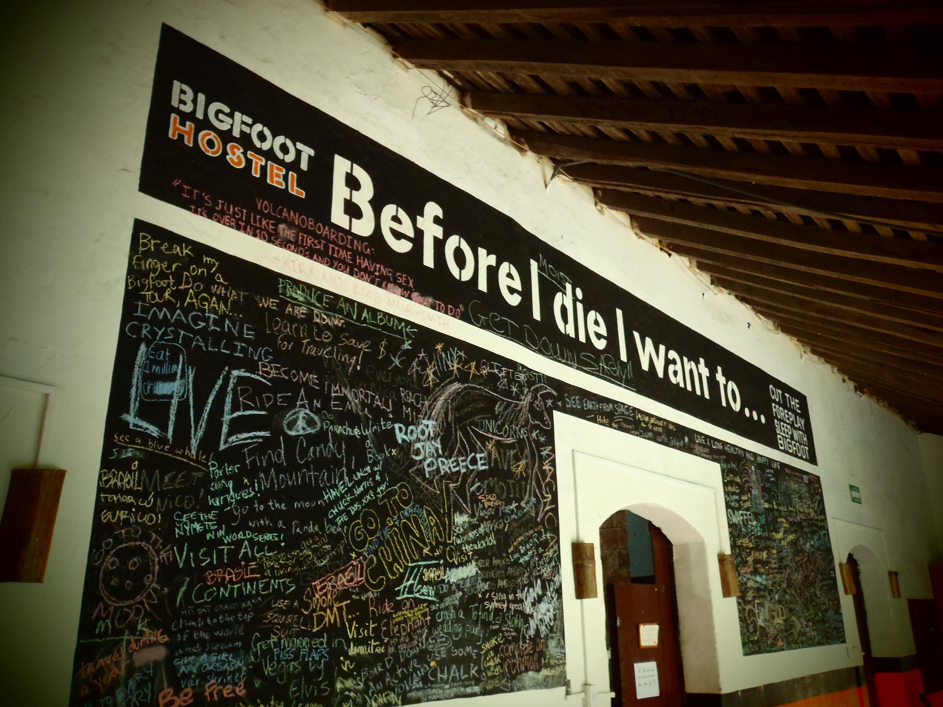 Before I Die; Leon, Nicaragua; 2013