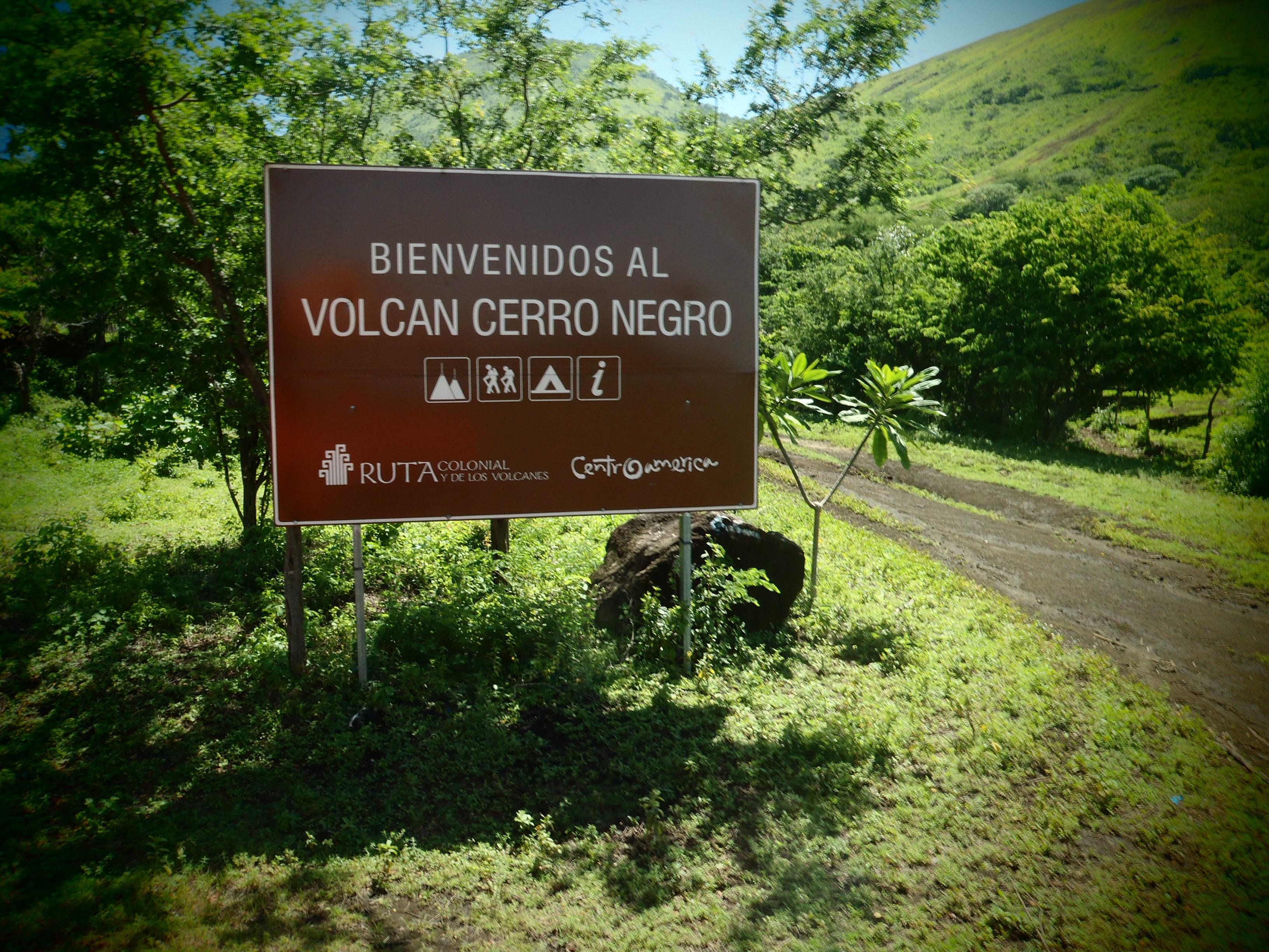 Welcome to Volcan Cerro Negro; Nicaragua; 2013