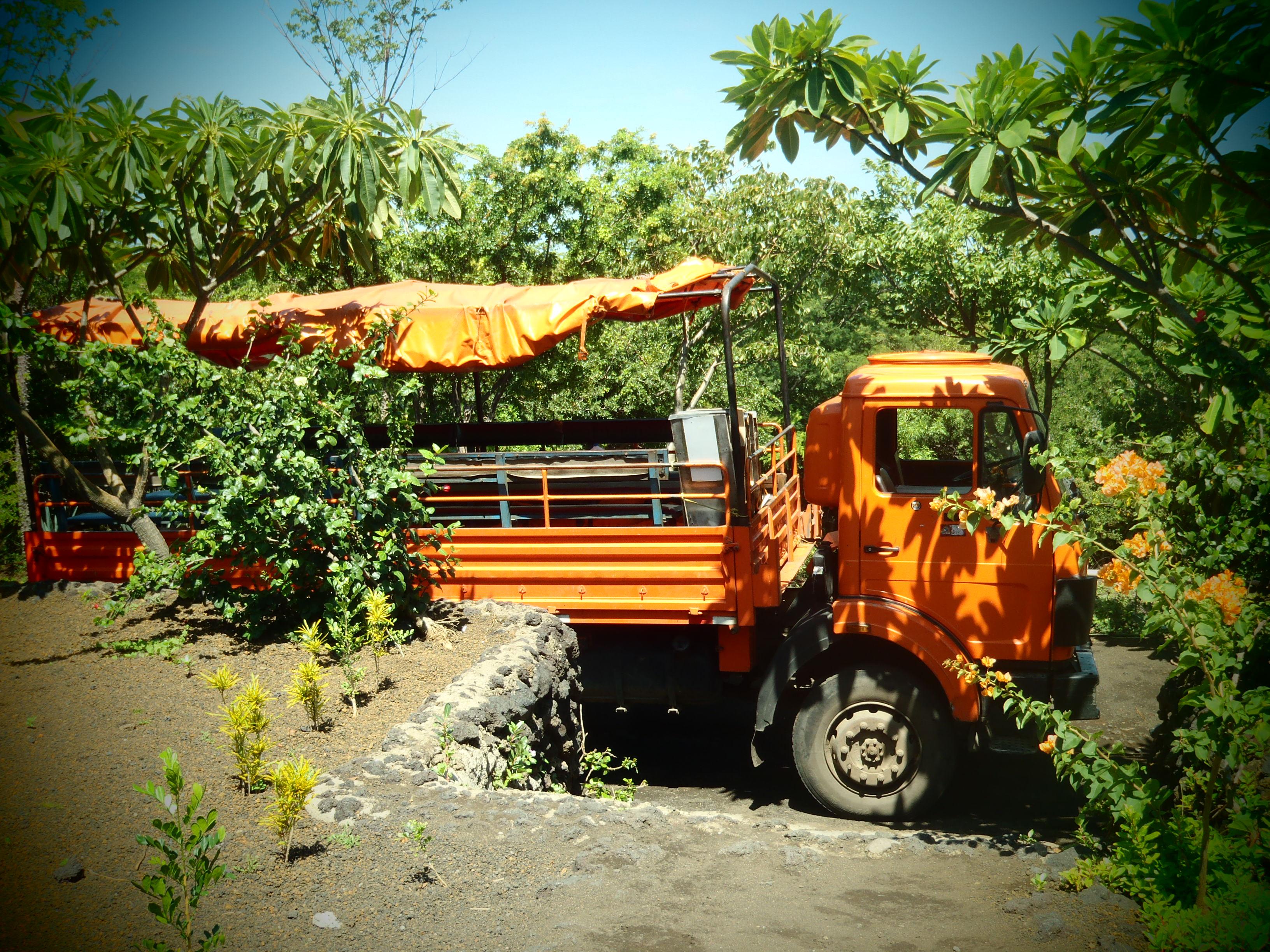Orange Bus; Nicaragua; 2013