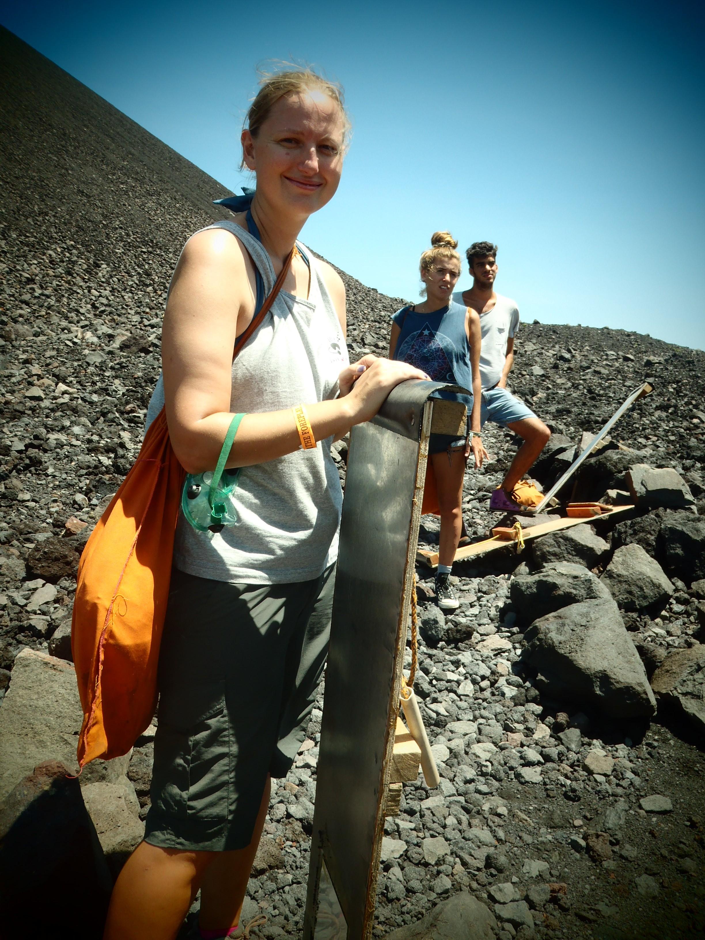 Volcano Boarding Gear; Nicaragua; 2013