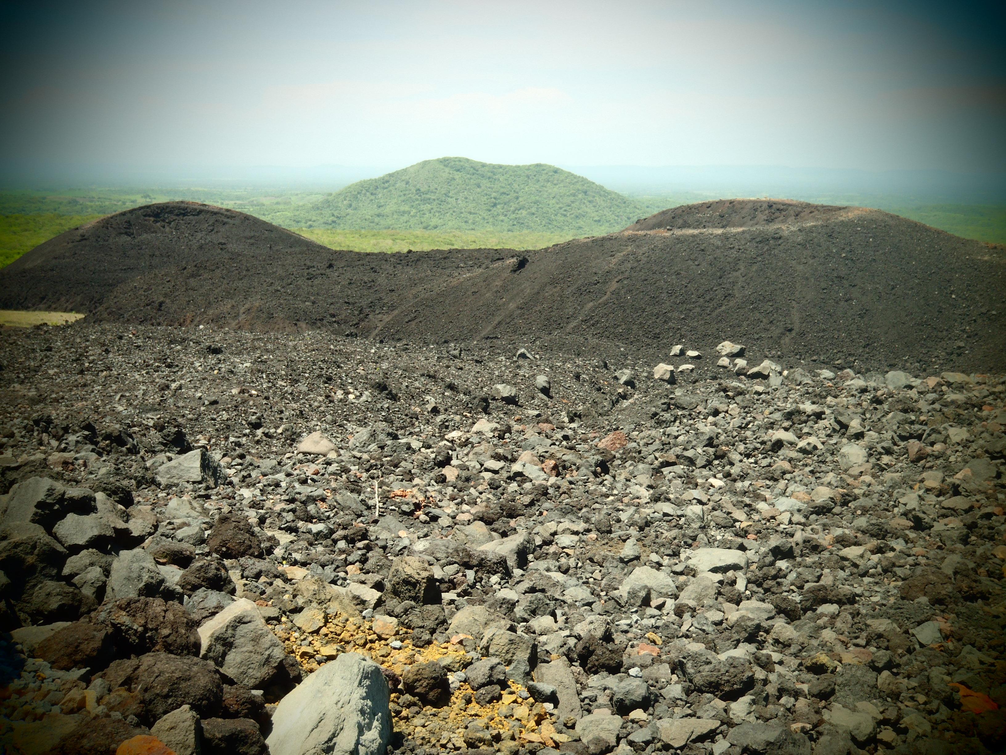 Landscape of Volcano; Nicaragua; 2013