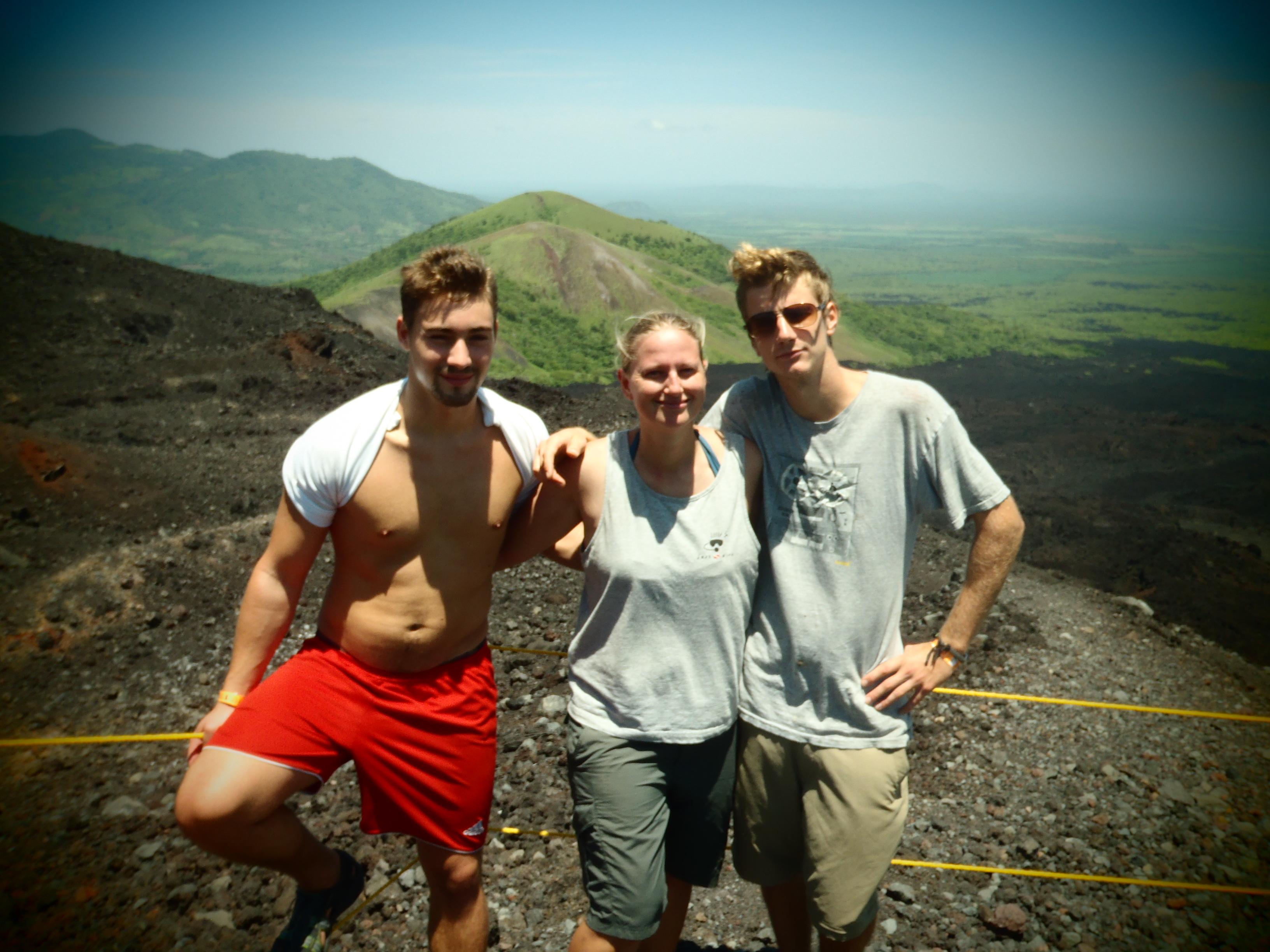 German Boys and I; Nicaragua; 2013