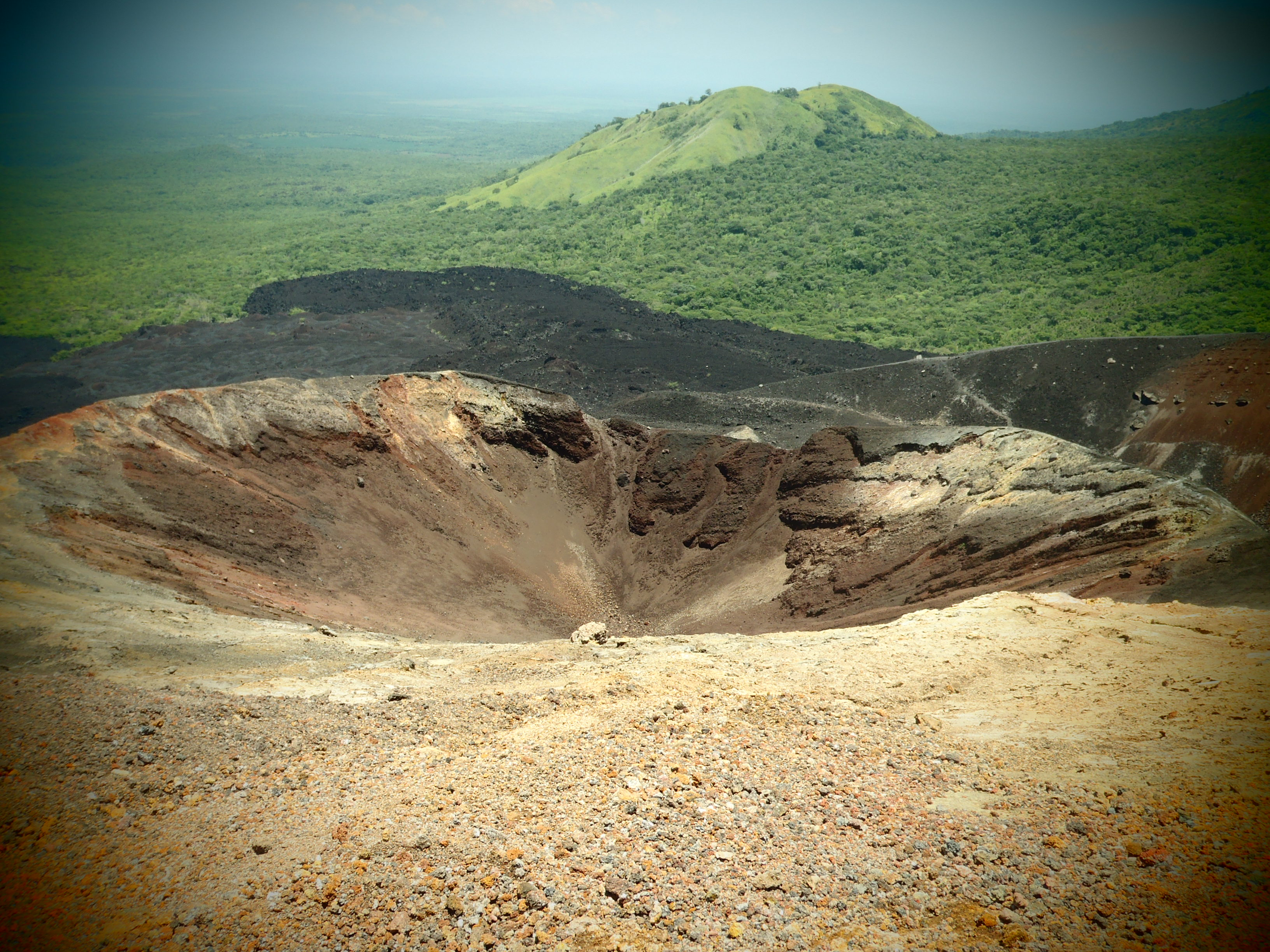 Cerro Negro; Nicaragua; 2013