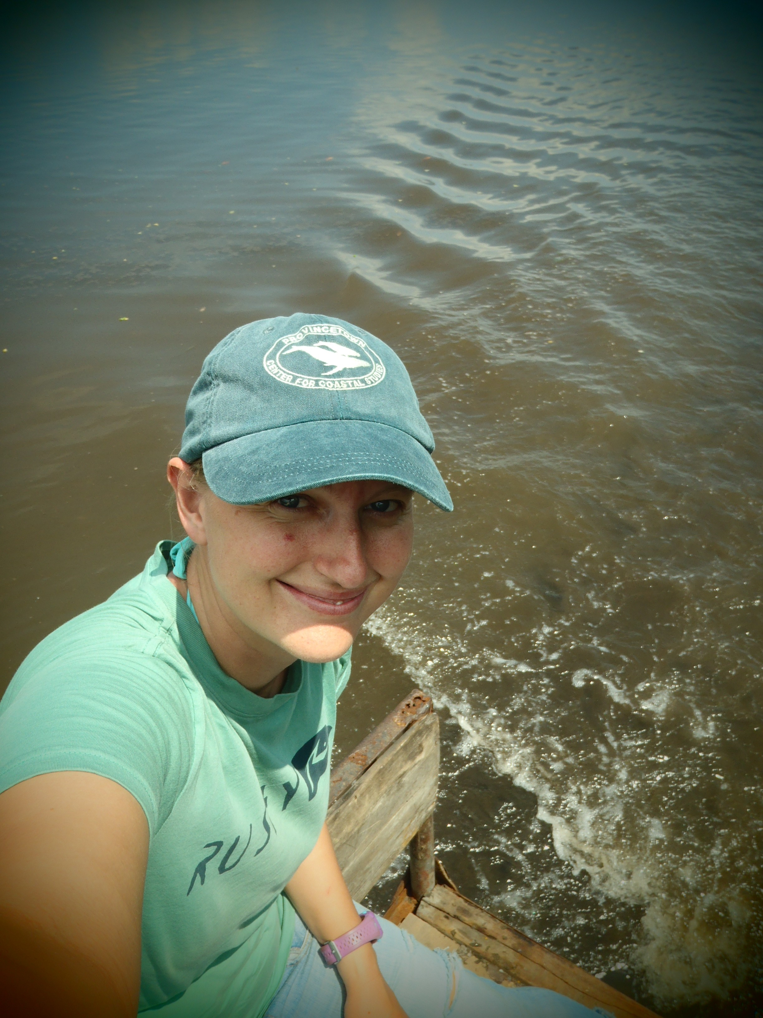 Selfie on Horseback Across the River; Isla Los Brasiles, Nicaragua; 2013